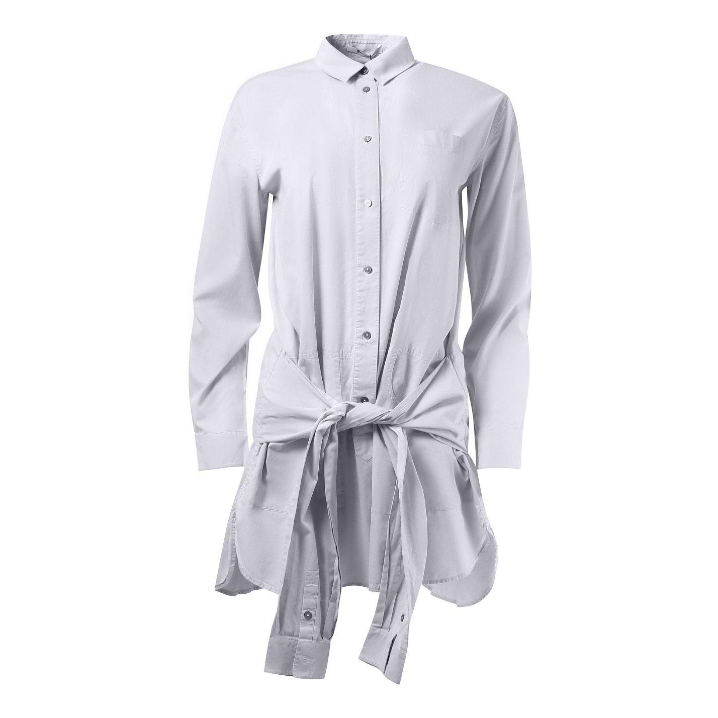 Alexander Wang Deconstructed Tie Waist Shirt