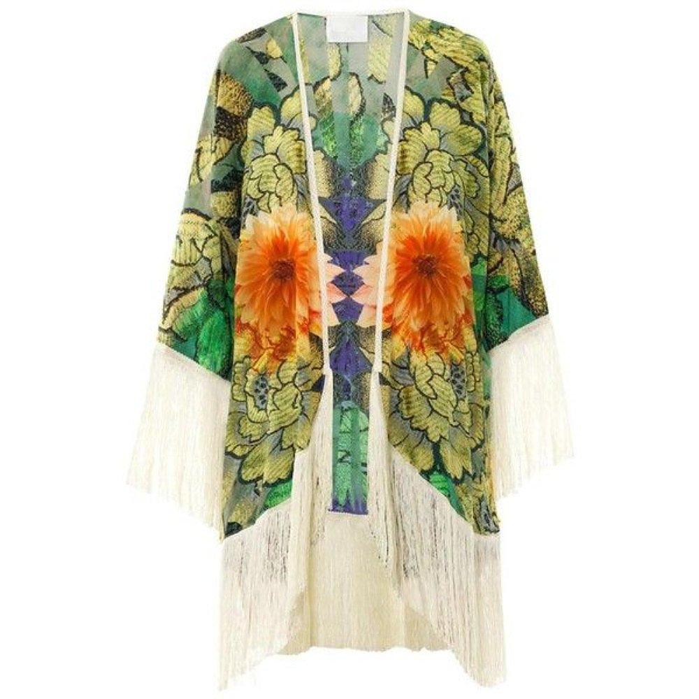 Athena Procopiou Kalimathan Silk Cover-Up