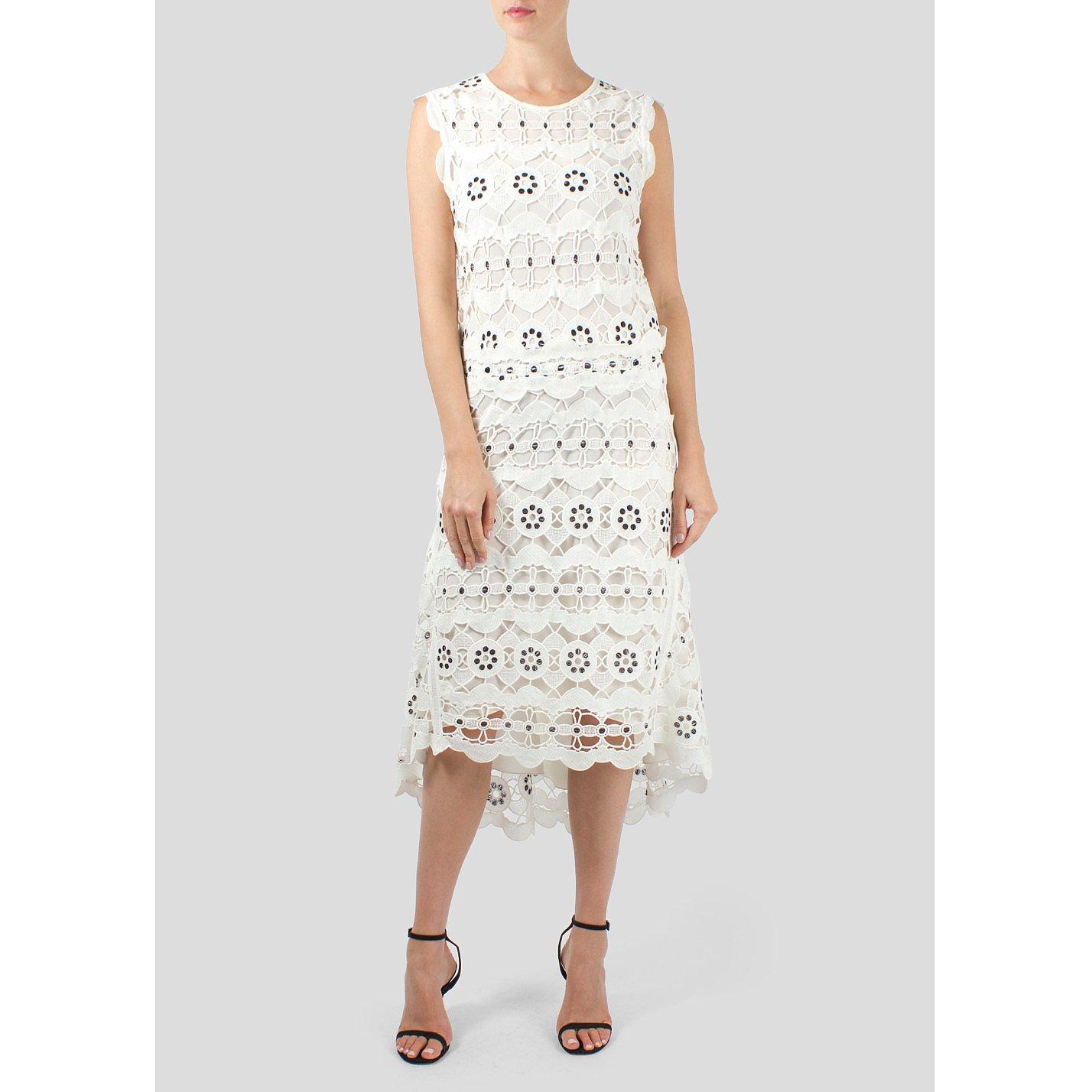 Chloé Cut Out Lace Dress