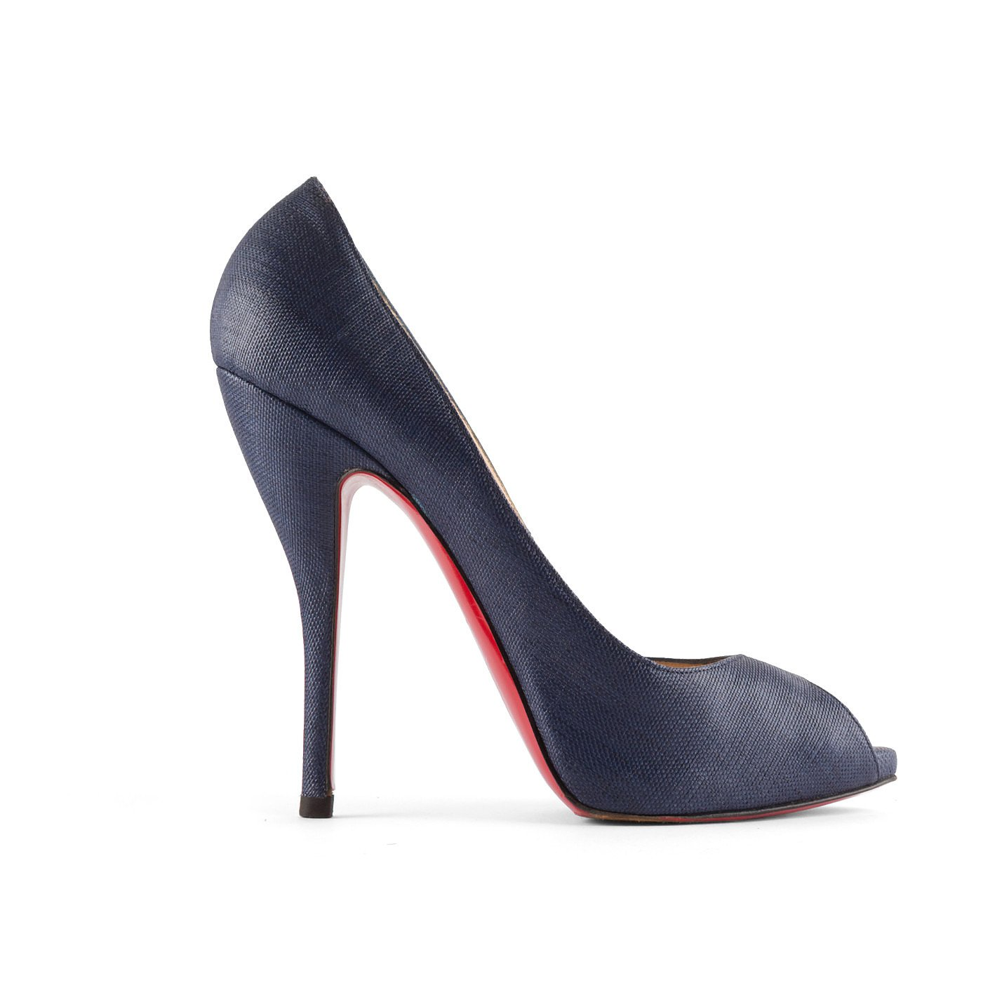 Christian Louboutin Very Prive Peep Toe Heels