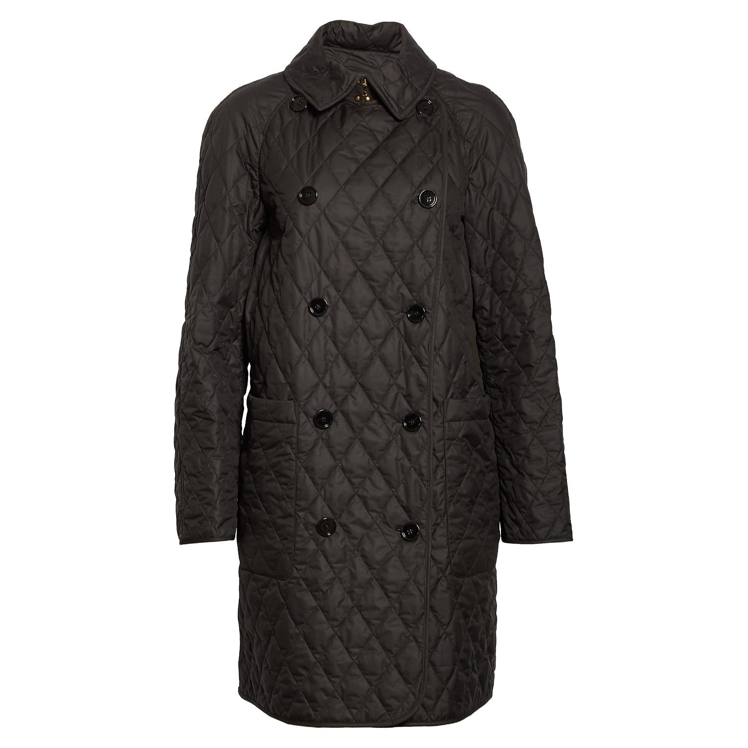 Burberry Quilted Double Breasted Coat