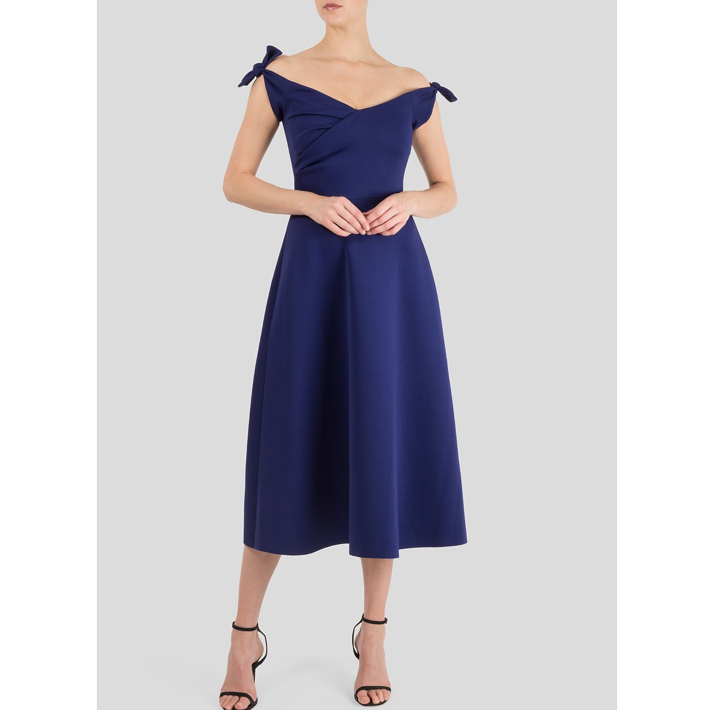 Saloni Ruth Off-The-Shoulder Stretch Dress