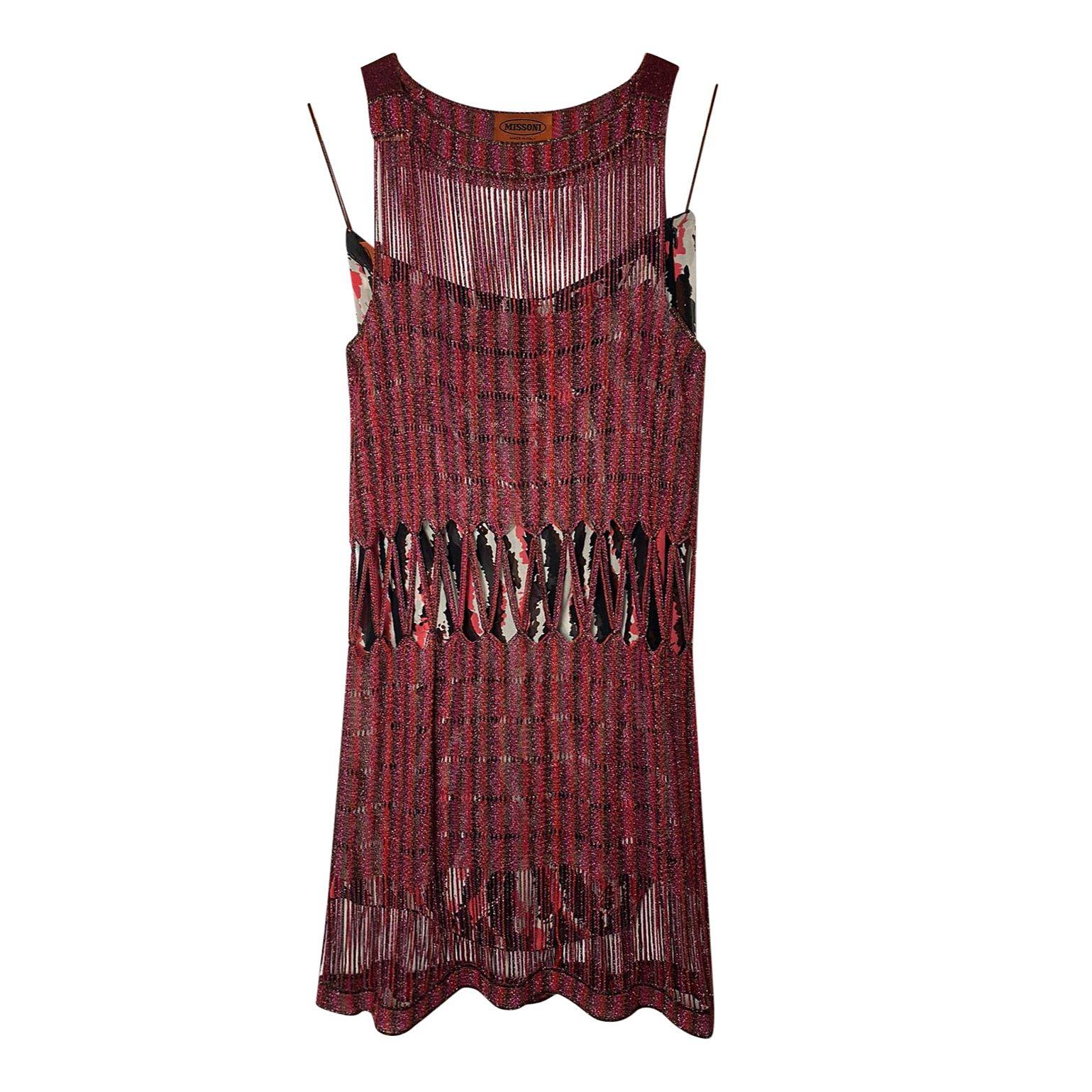 Missoni Layered Mini Dress