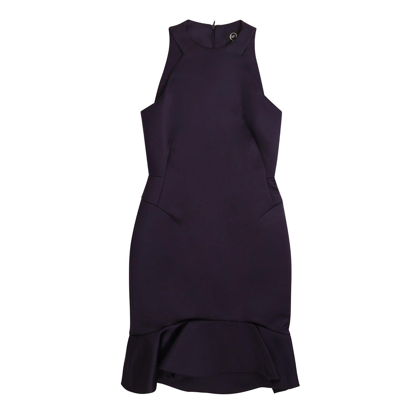 McQ Sleeveless Satin Dress