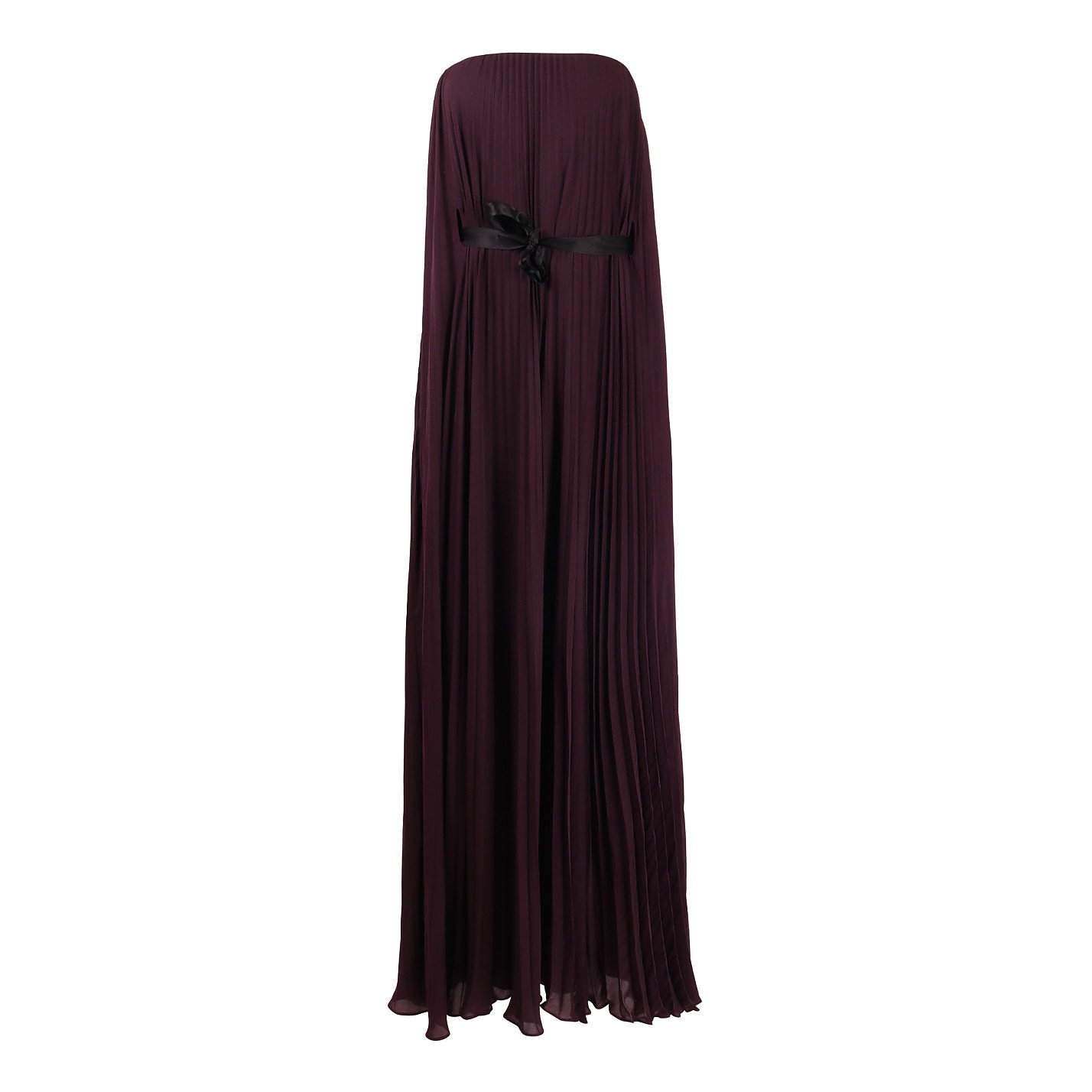 Amanda Wakeley Strapless Pleated Gown