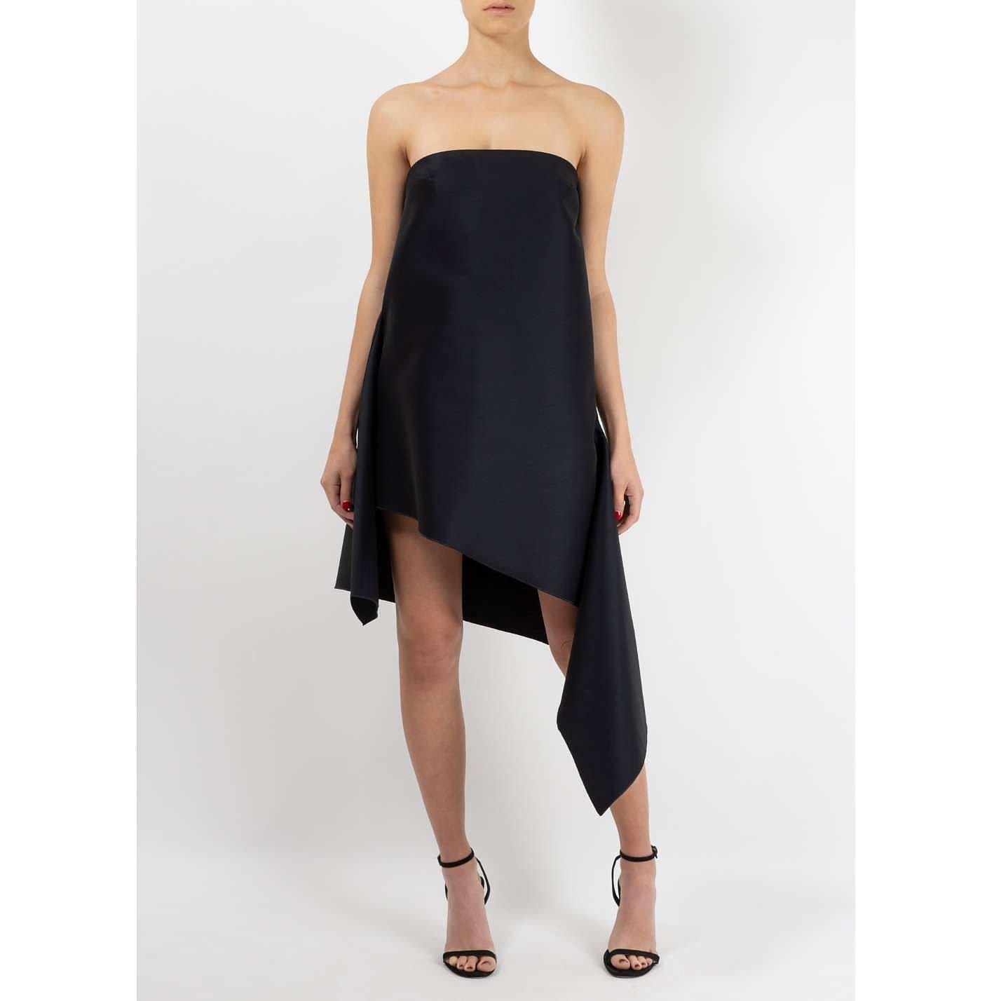 Dion Lee Strapless Asymmetrical Dress