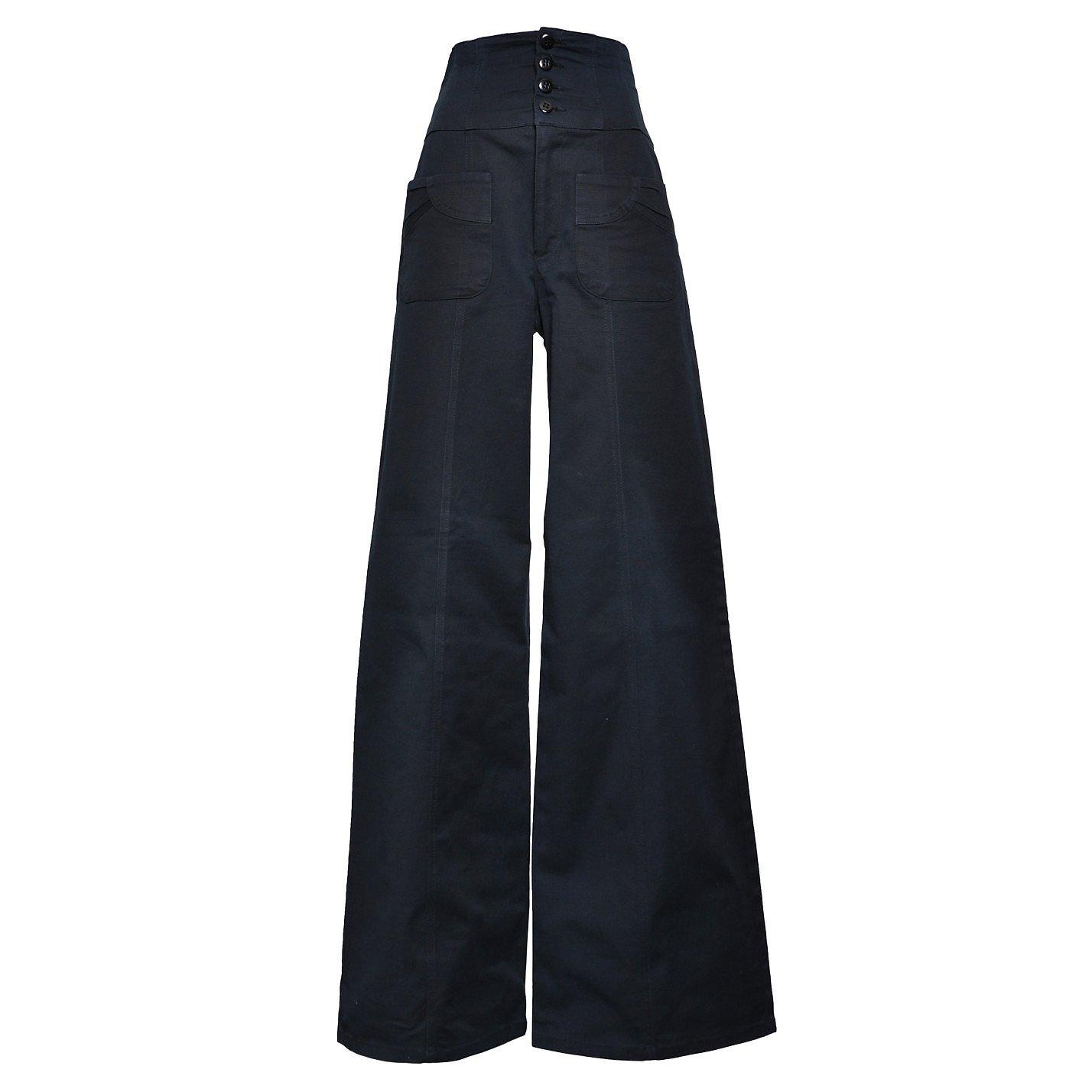 Nanette Lepore High-Waist Trousers