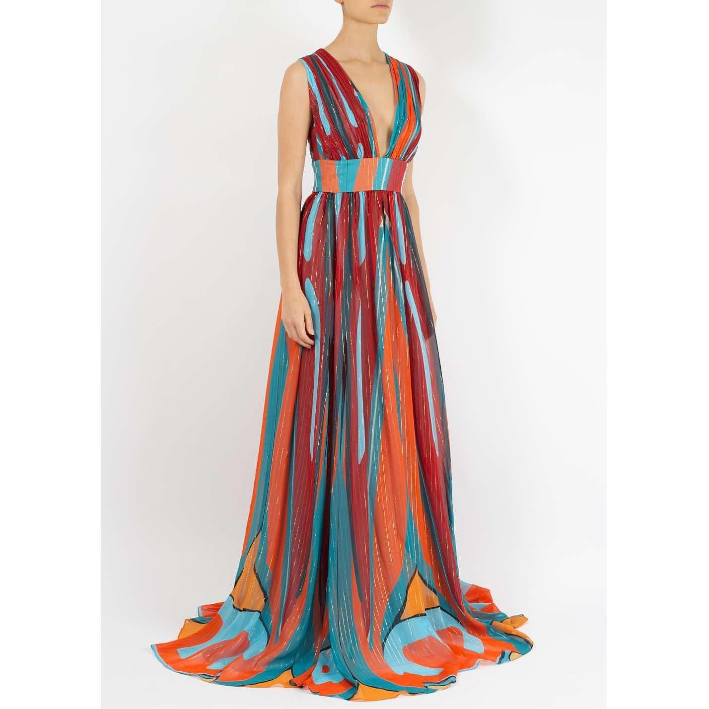 Dhela Spacebug Silk Gown
