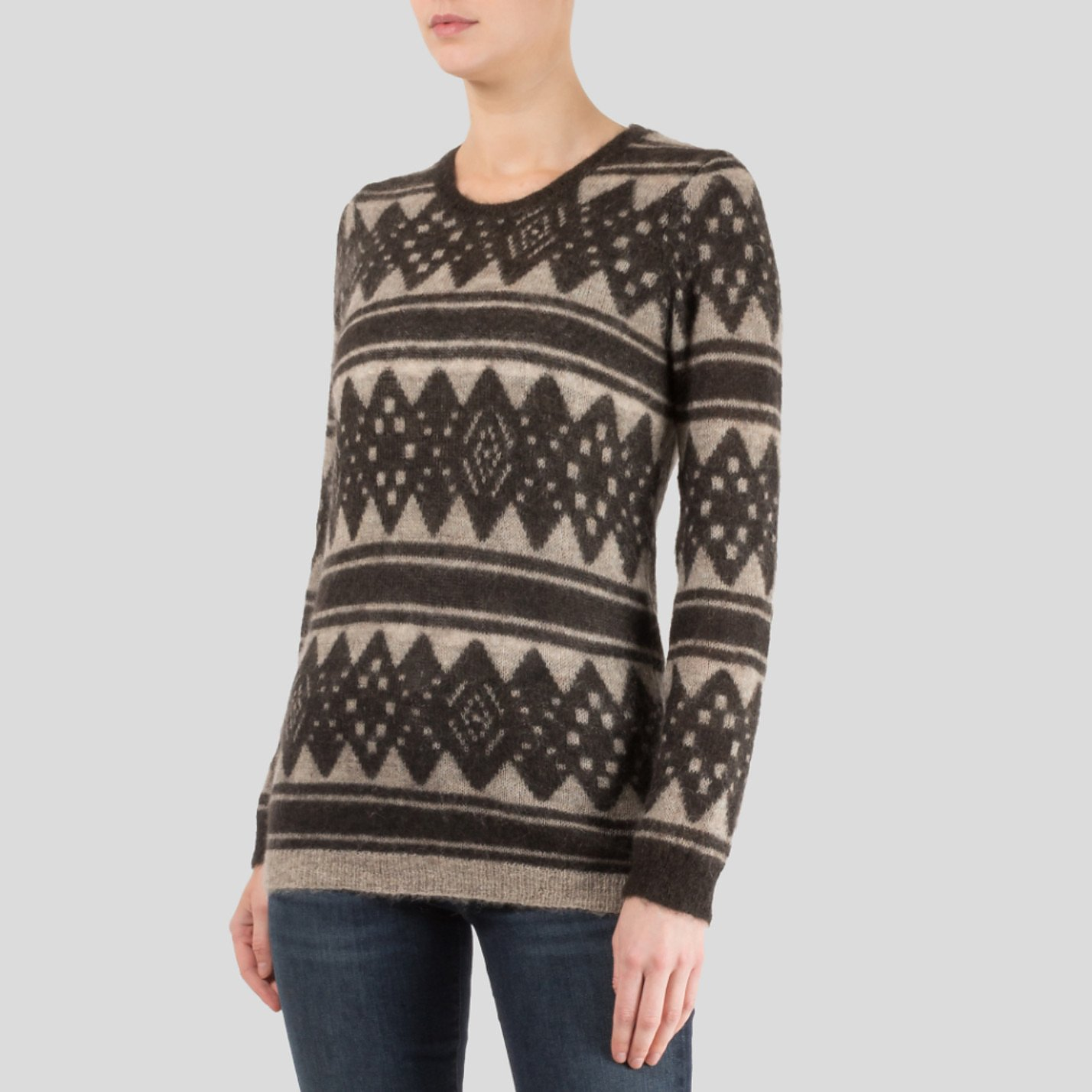 Isabel Marant Étoile Patterned Mohair Sweater