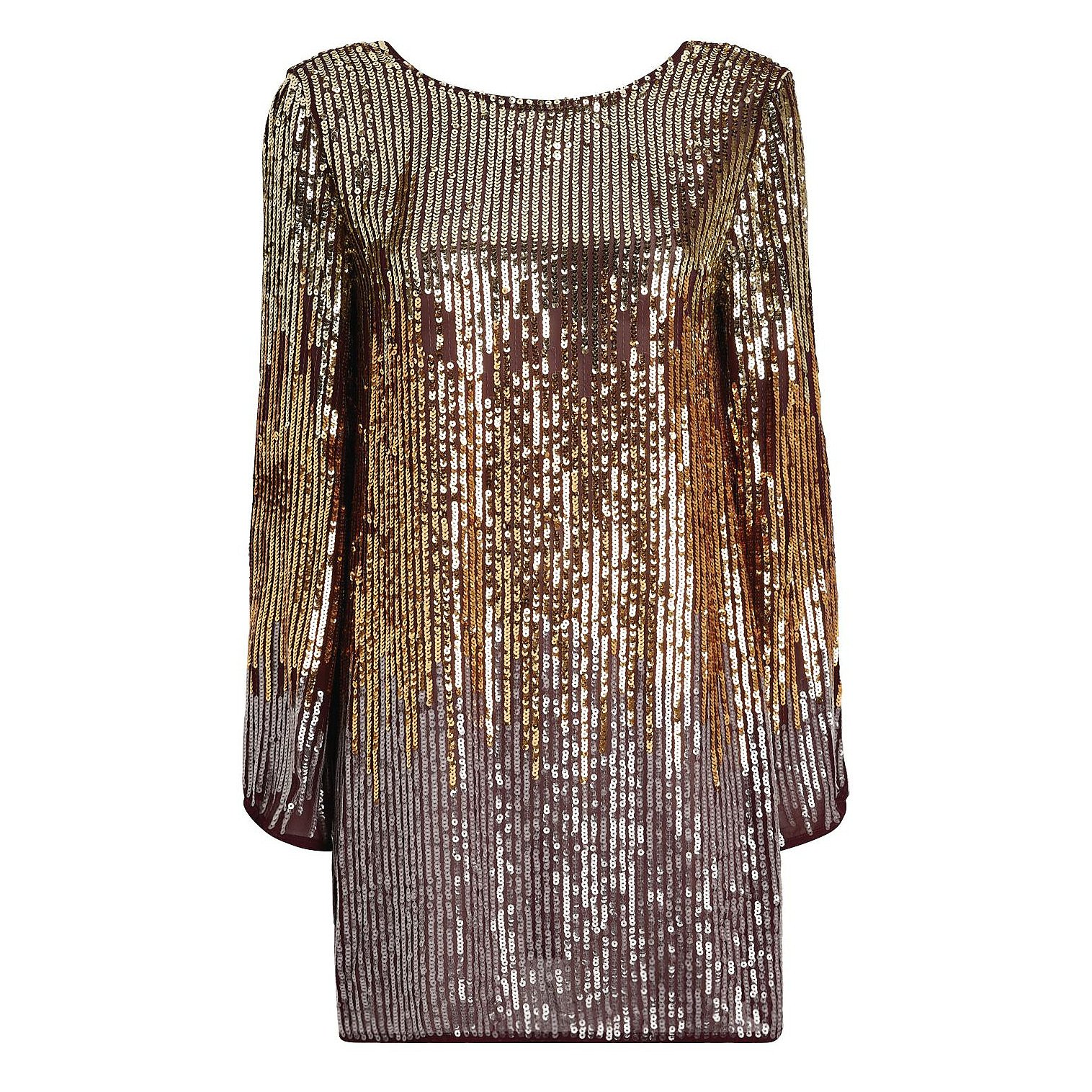 Rixo Aria Sequin Mini Dress