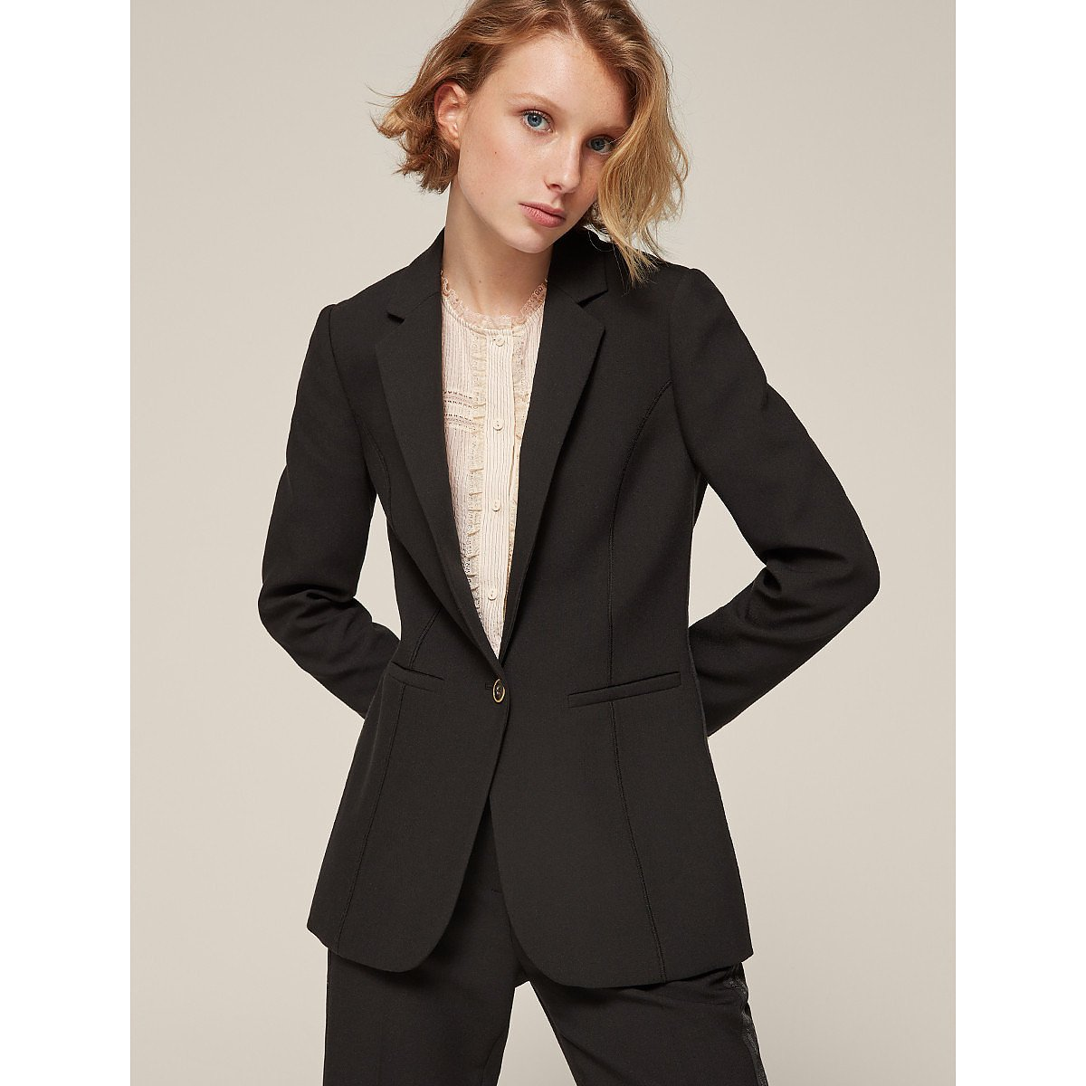 ME+EM Crease-Free Tailored Blazer