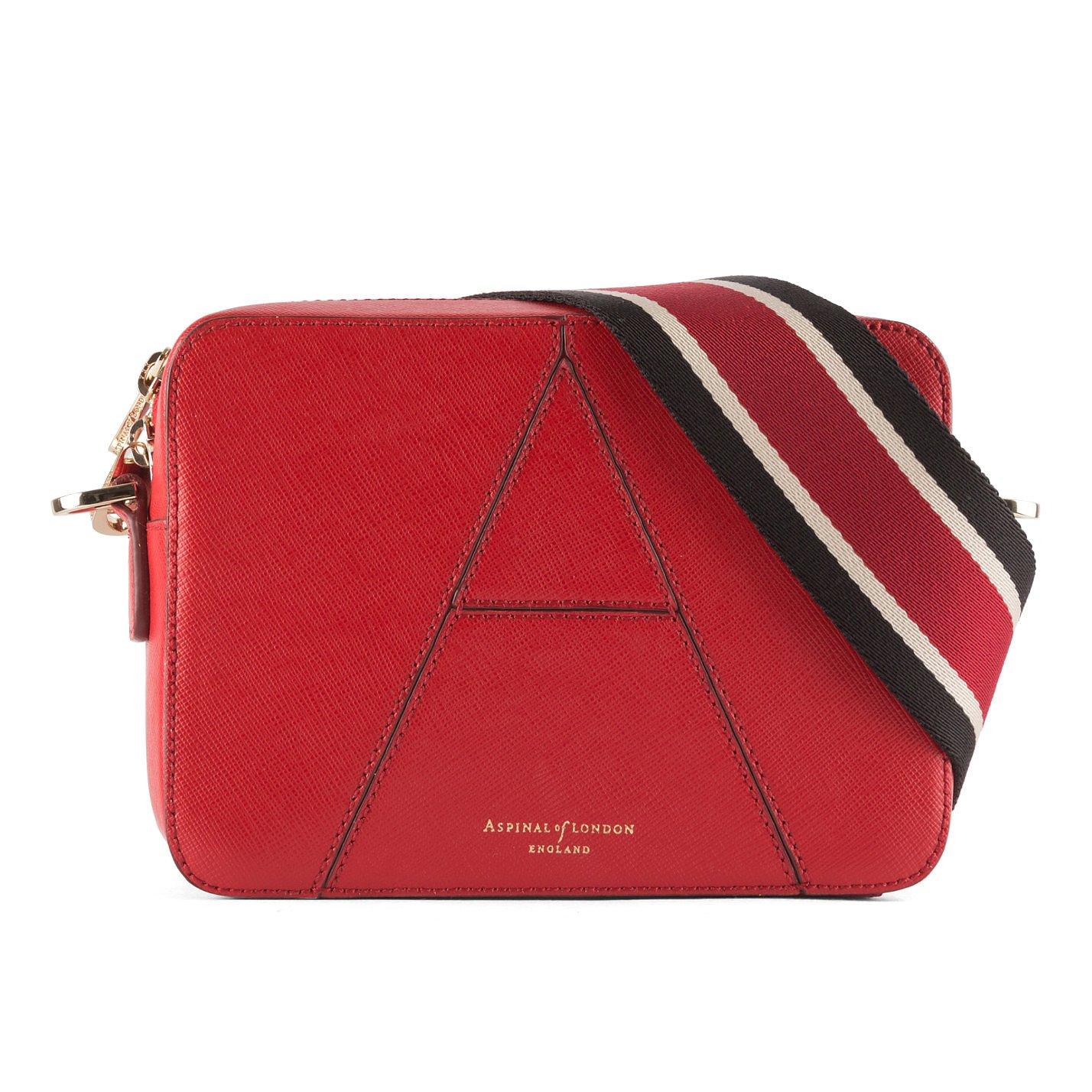 "Aspinal ""A"" Leather Camera Bag"
