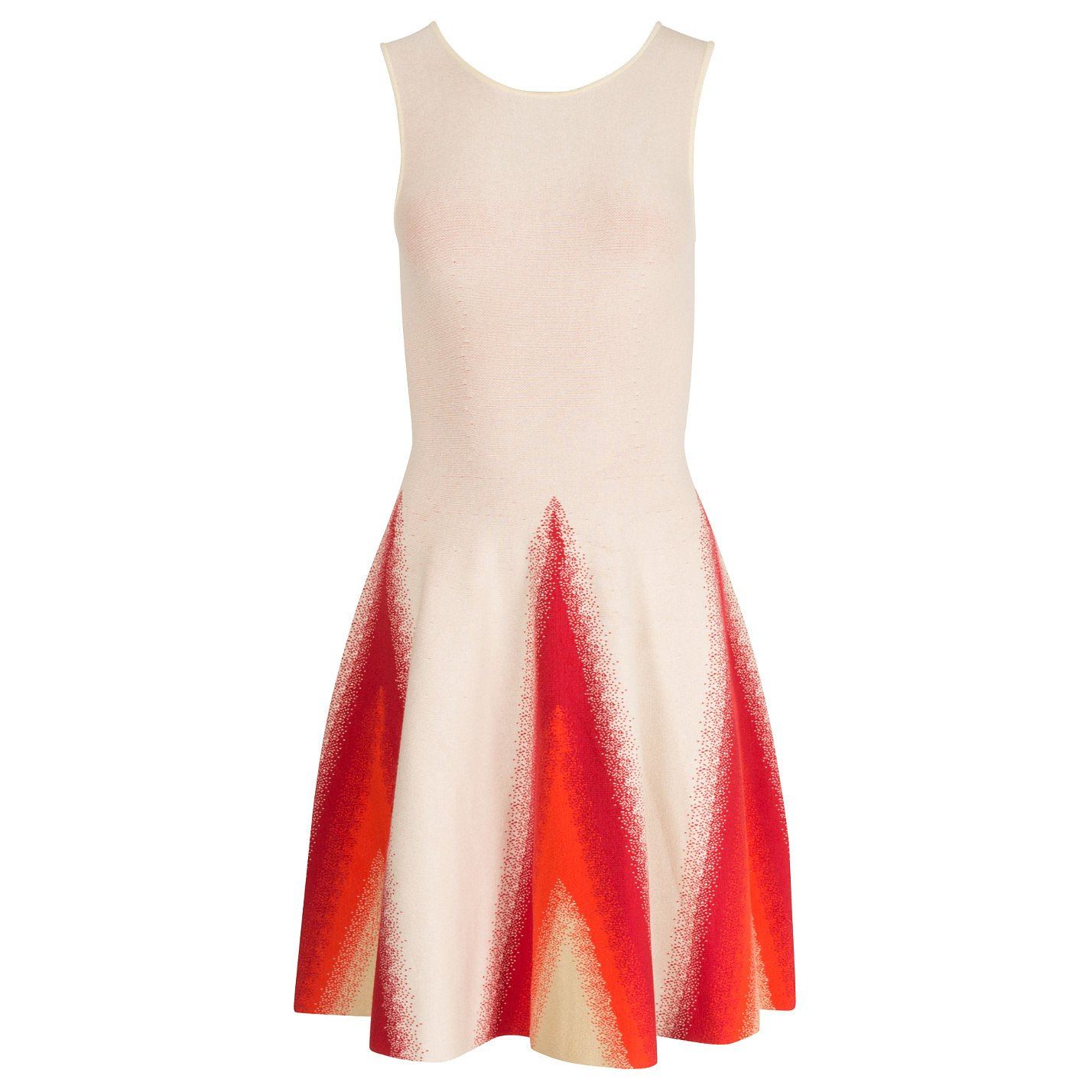 Dhela Intarsia Skater Dress