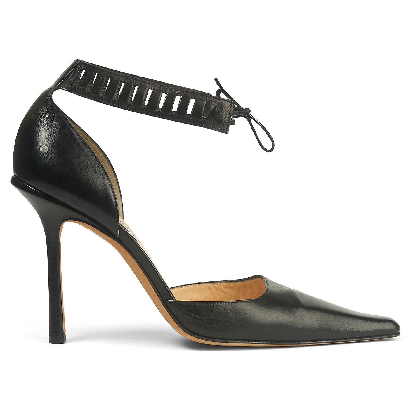 Jimmy Choo Ankle Strap Stiletto