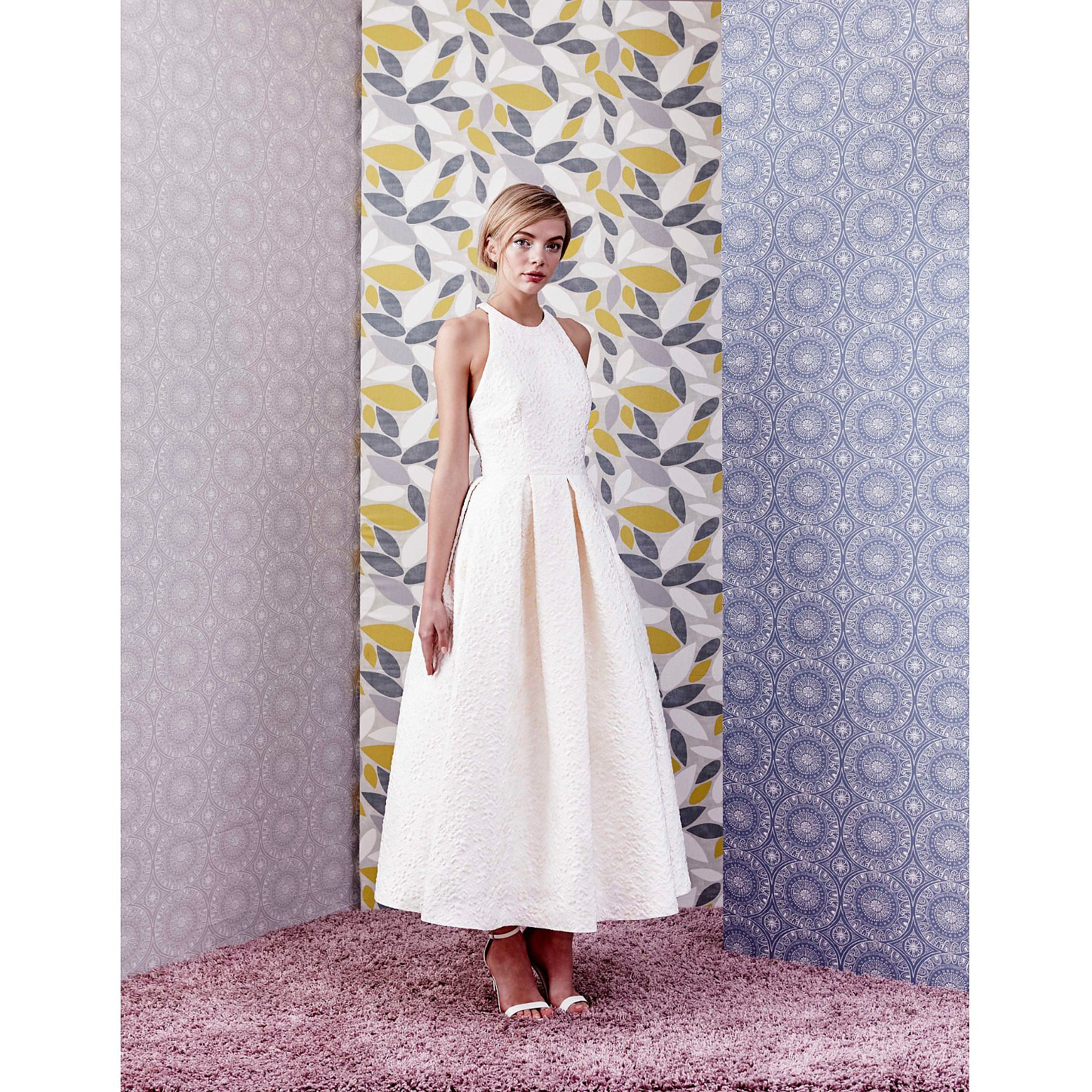 Charlie Brear Peploe Dress