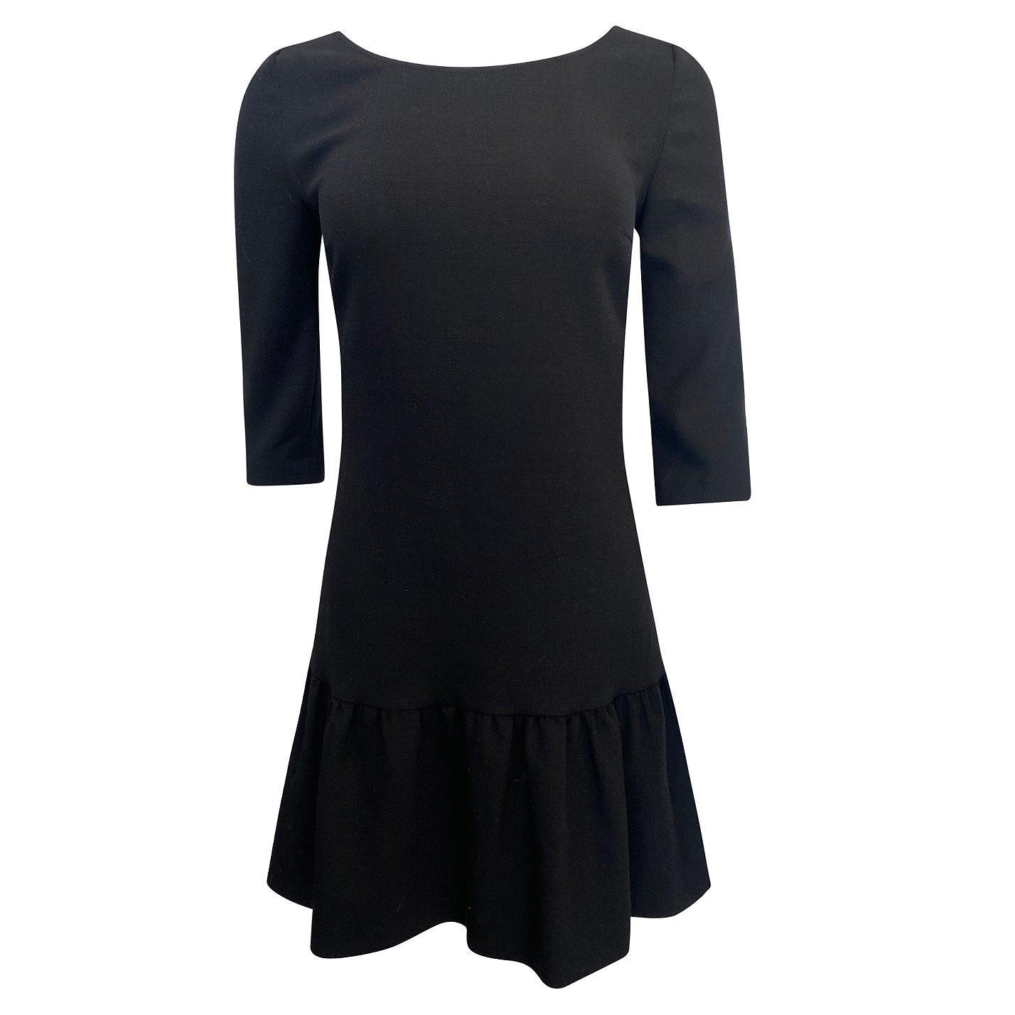 BA&SH Ruffle Hem Mini Dress