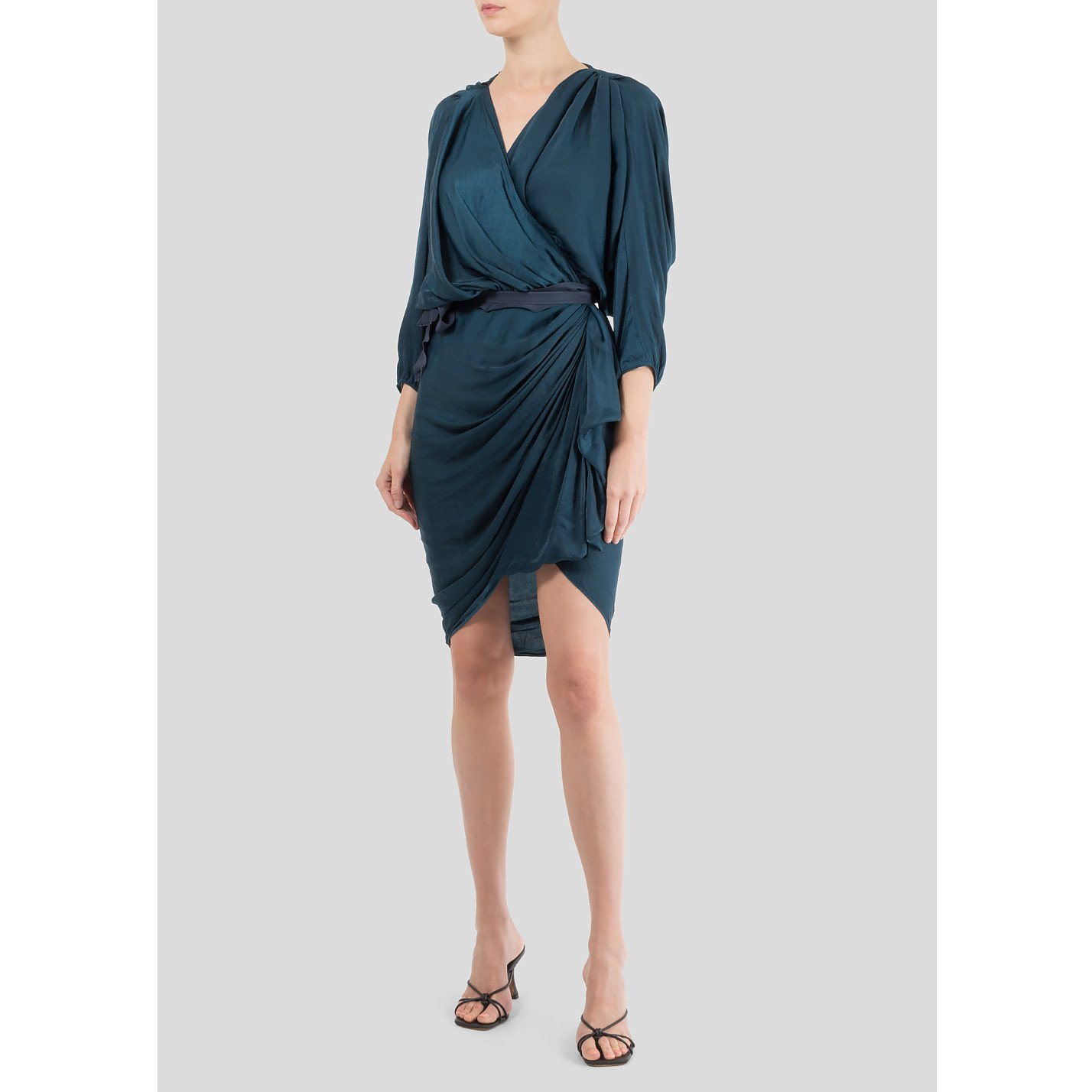 Lanvin Ruched Dress