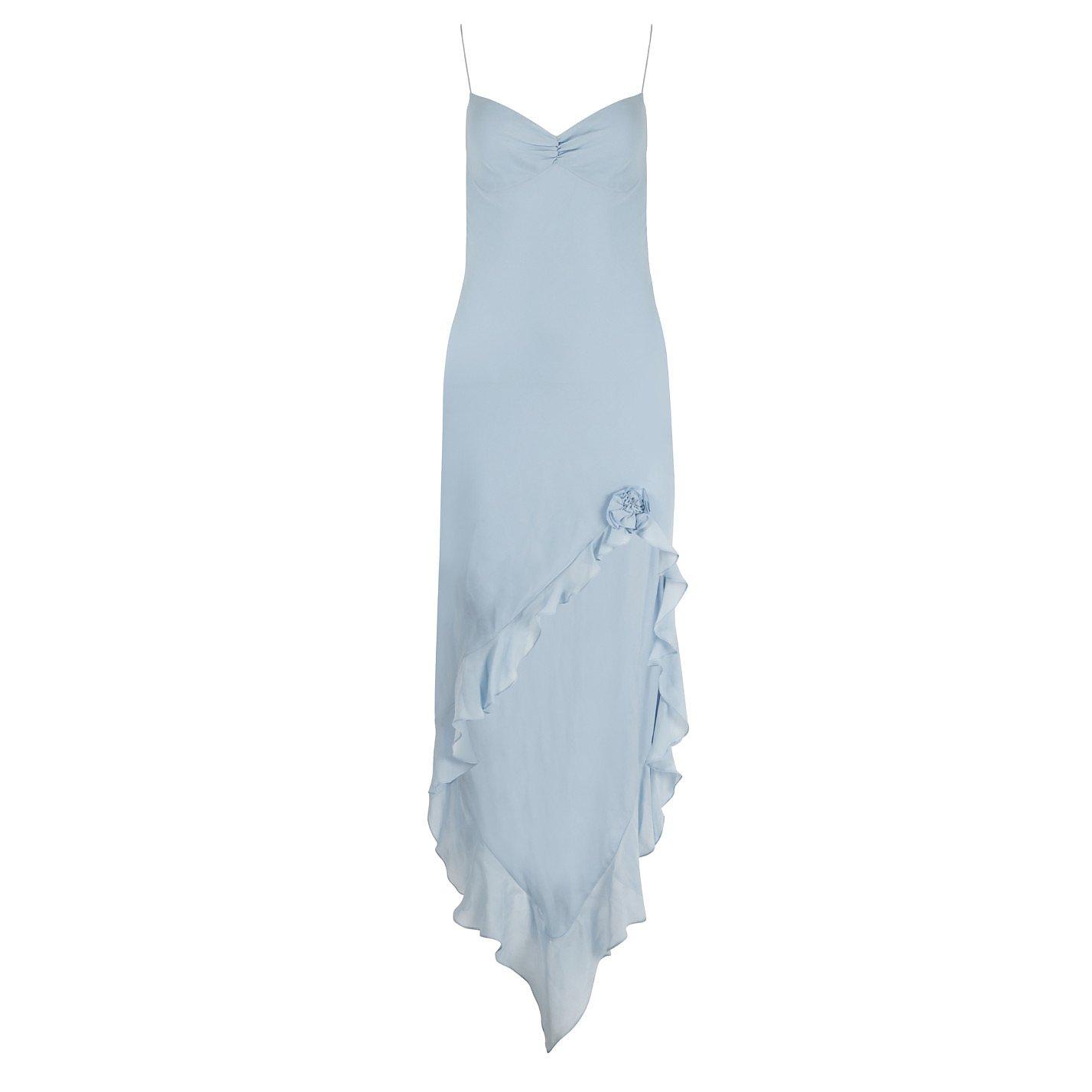 Maria Grachvogel Silk Waterfall Dress