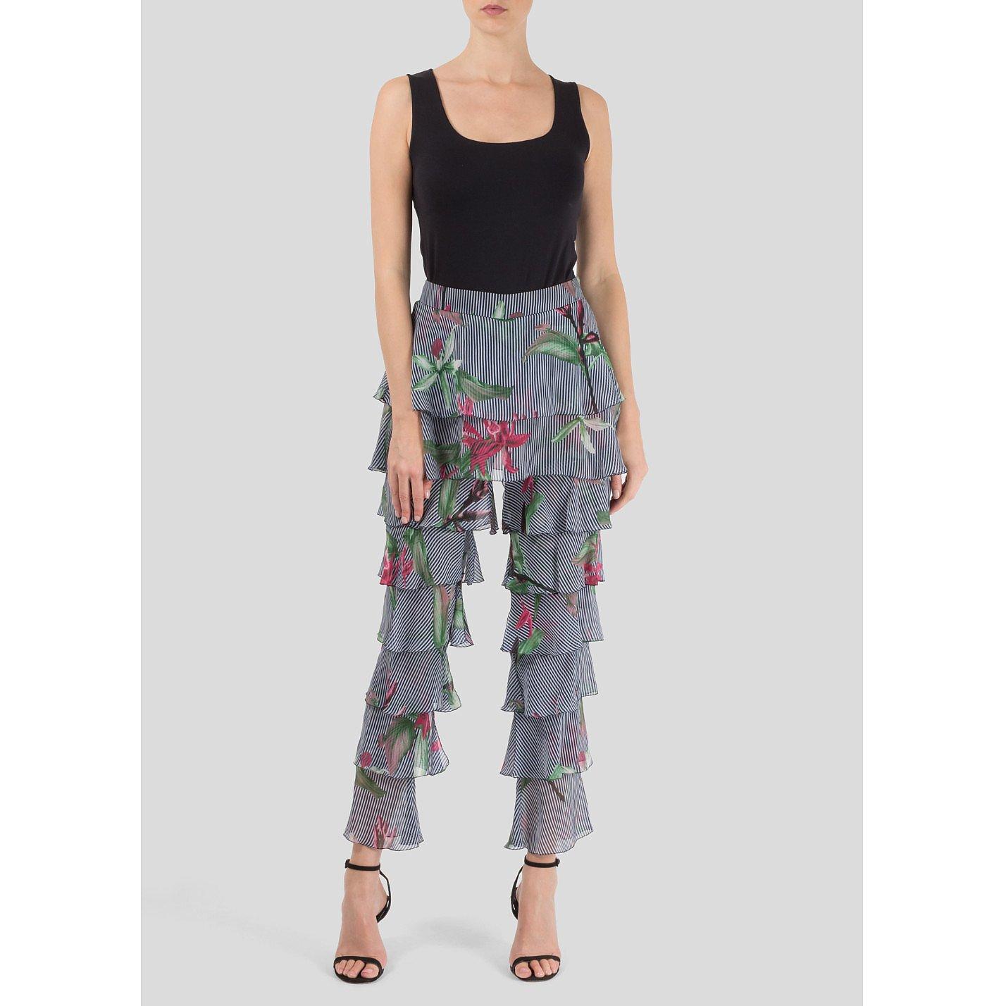 Starsica Jungle Print Frill Trousers