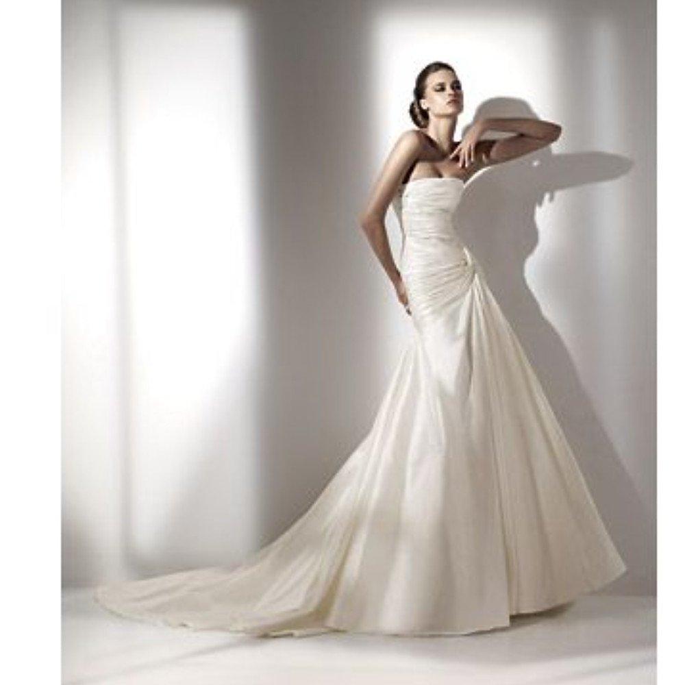 Elie Saab for Pronovias Limited Edition A-Line Wedding Dress with Veil