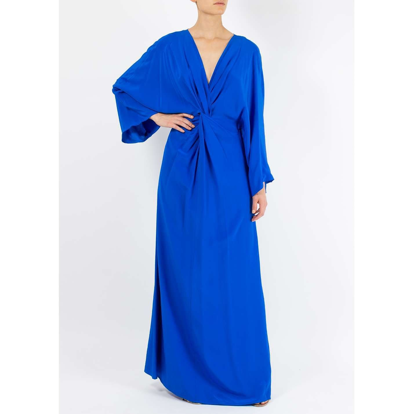 Dhela Kaftan Silk Gown