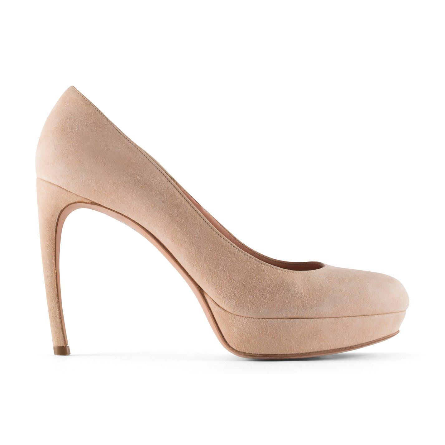 Alexander McQueen Stiletto Blush Heels