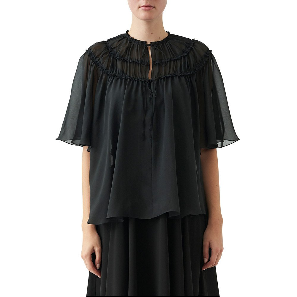 Noon By Noor Allentown Chiffon Blouse