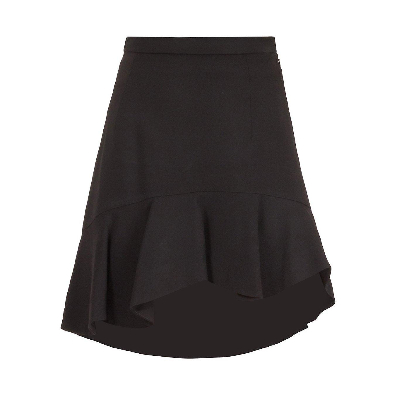 Preen Asymmetric Ruffle Mini Skirt