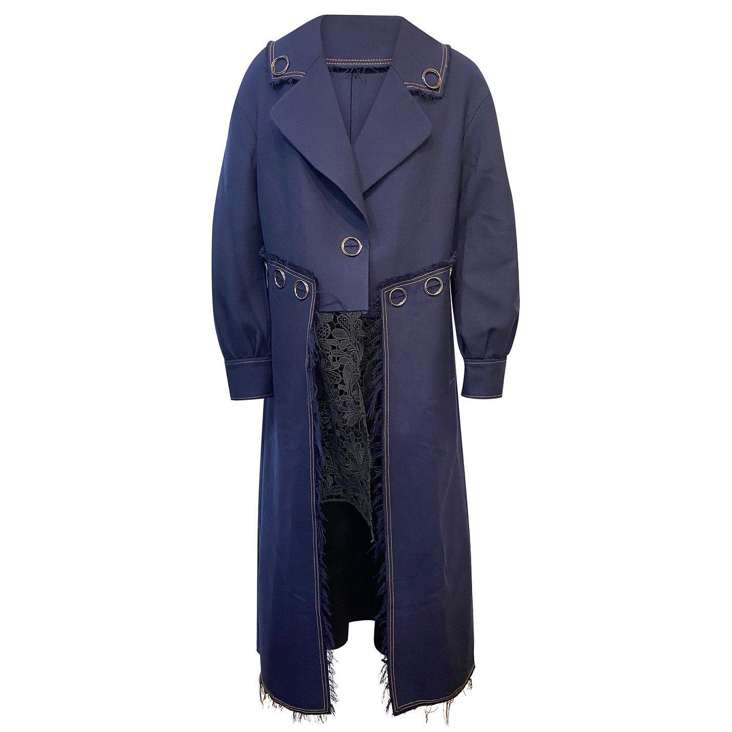 Whole 9 Yards Lace-Detail Coat