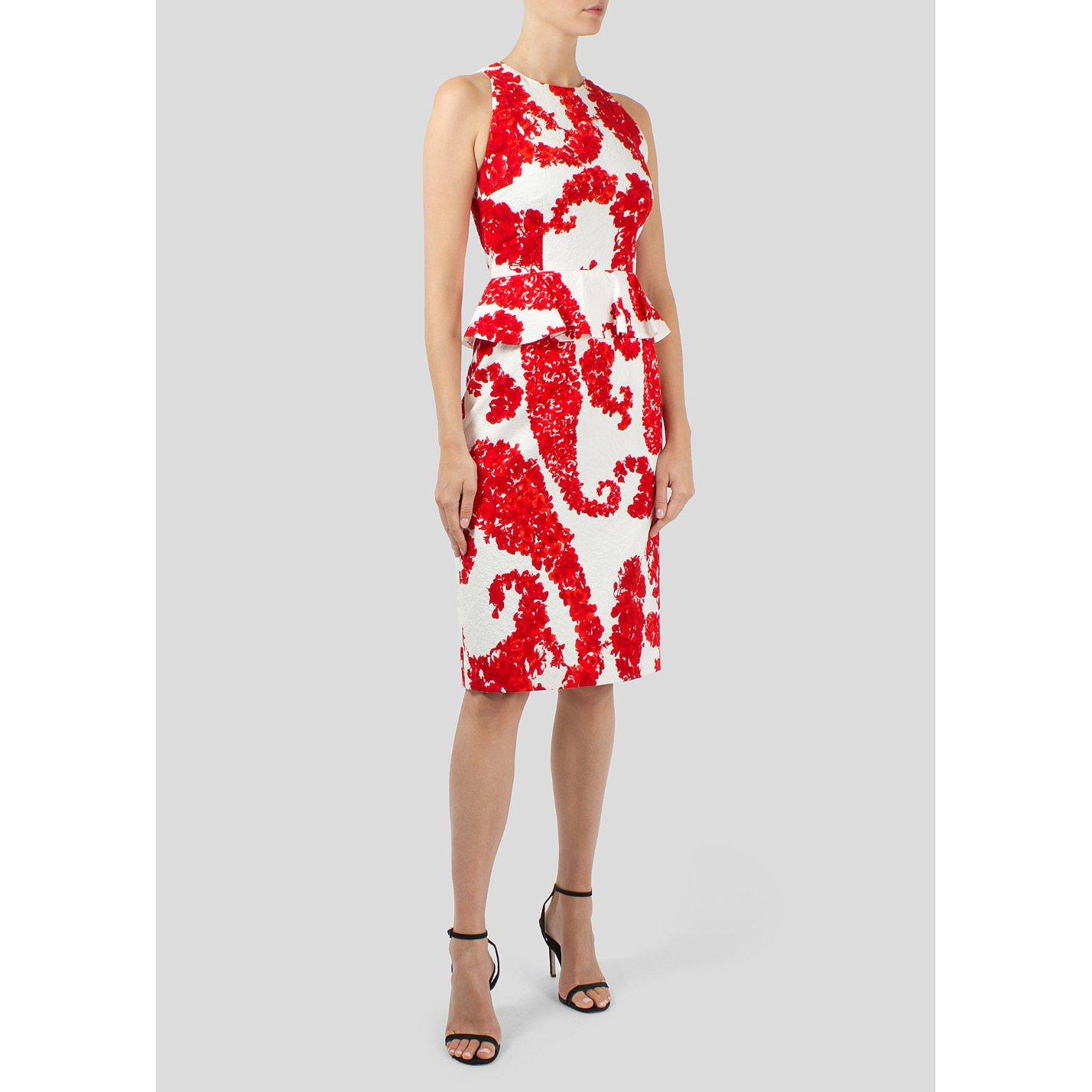 Giambattista Valli Floral Print Dress