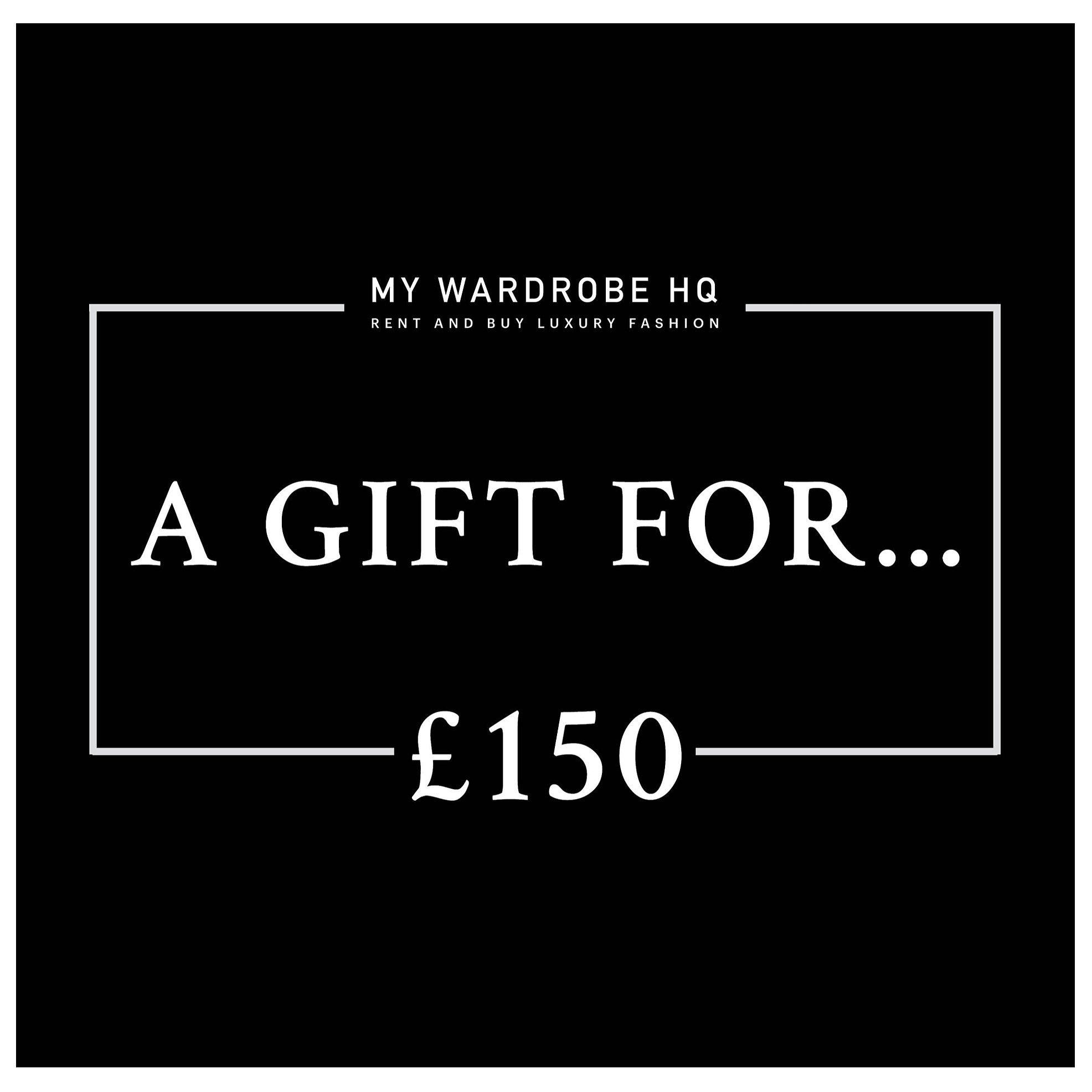 Voucher £150 gift voucher