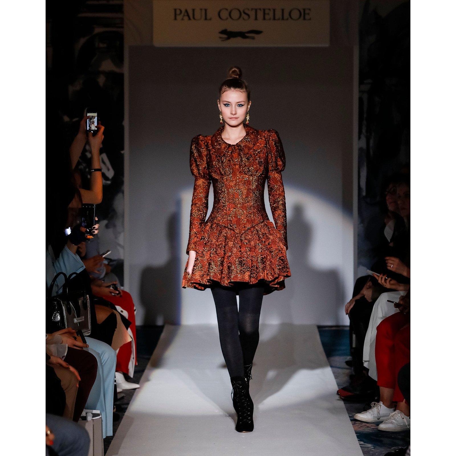 Paul Costelloe Corset Doll Dress