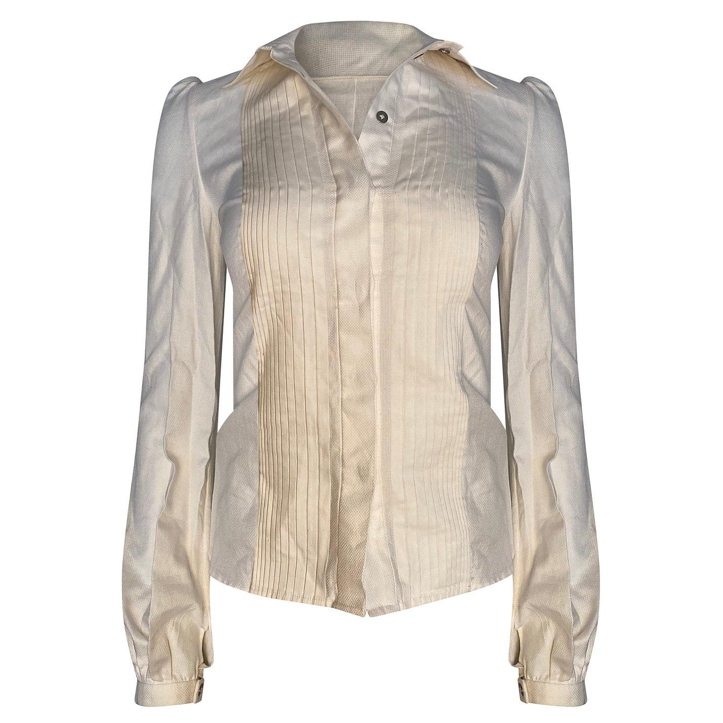 Boudicca Pleated Shirt