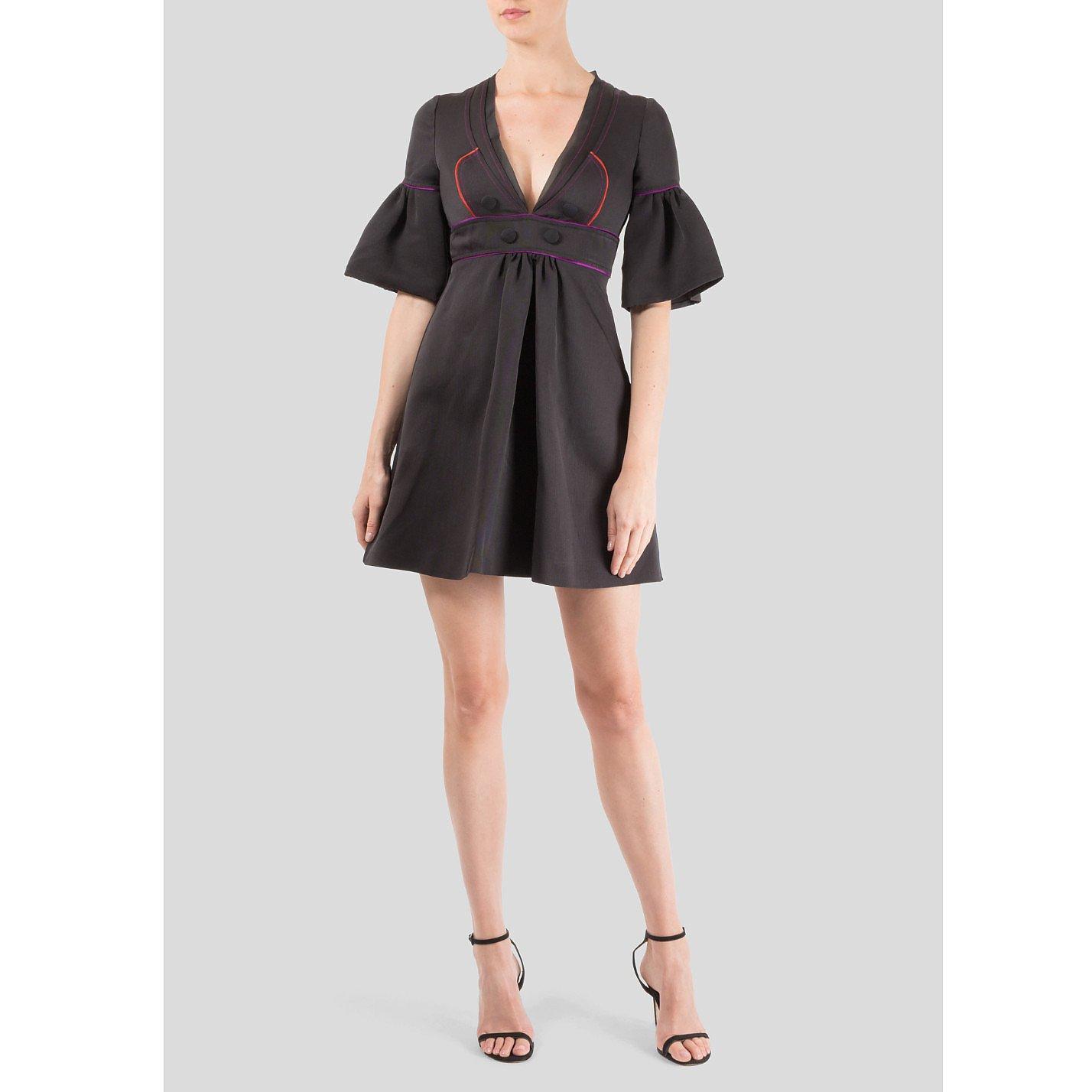 Gucci Puff Sleeve Mini Dress