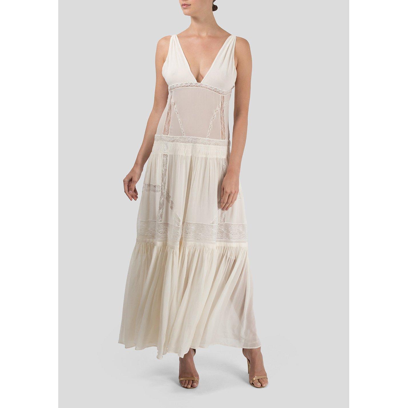 Roberto Cavalli Lace Gown