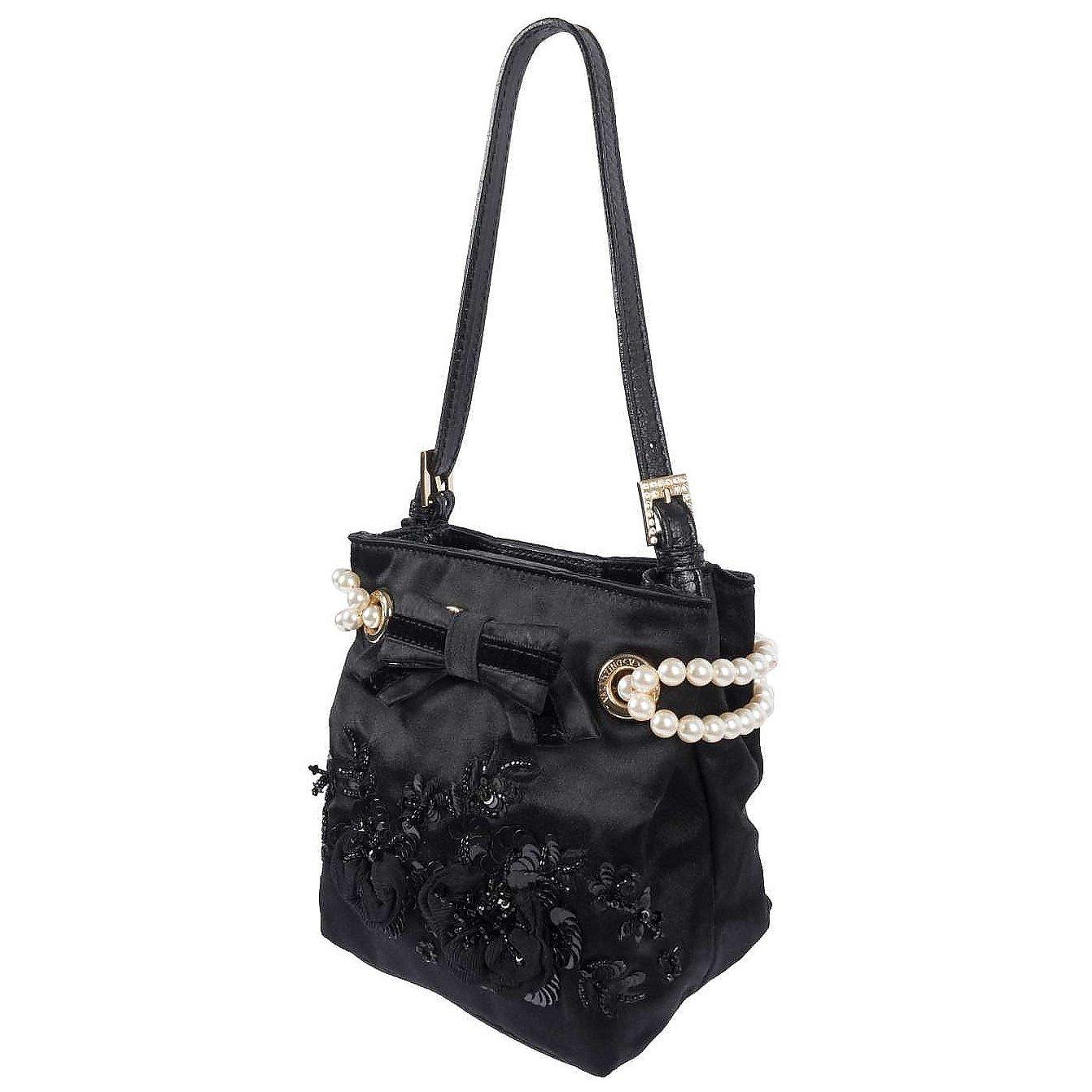Valentino Pearl-Detail Shoulder Bag
