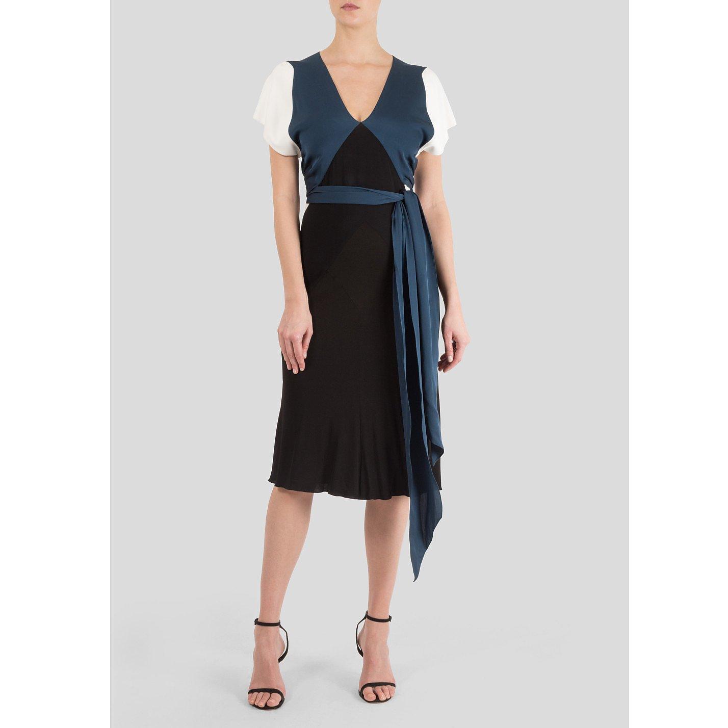 Vionnet Colour Block Dress