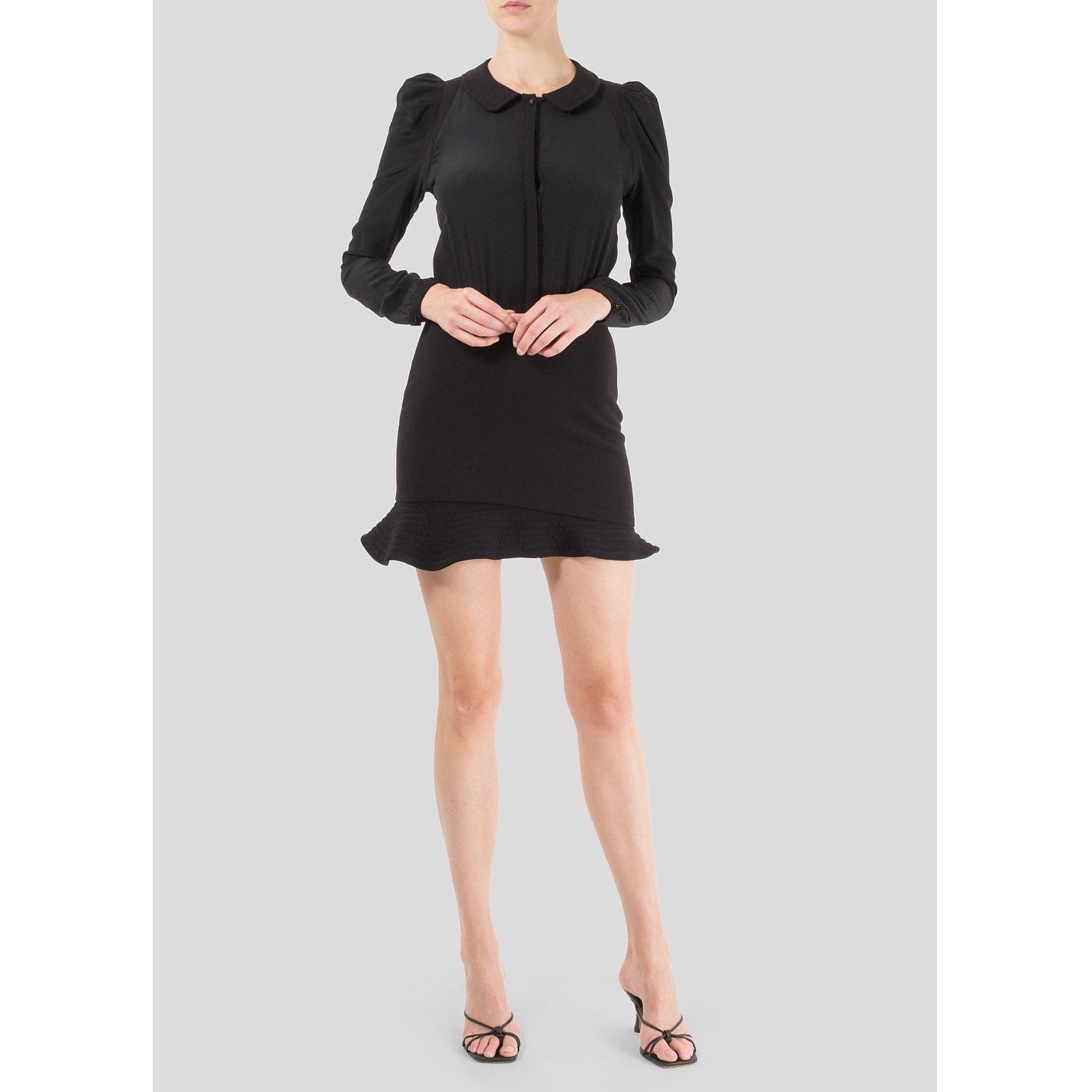 Maje Long Sleeve Mini Dress