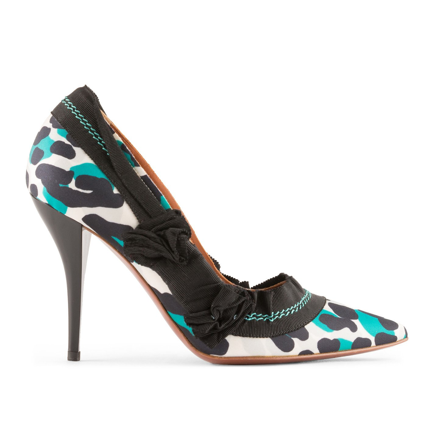 Lanvin Patterned Pumps