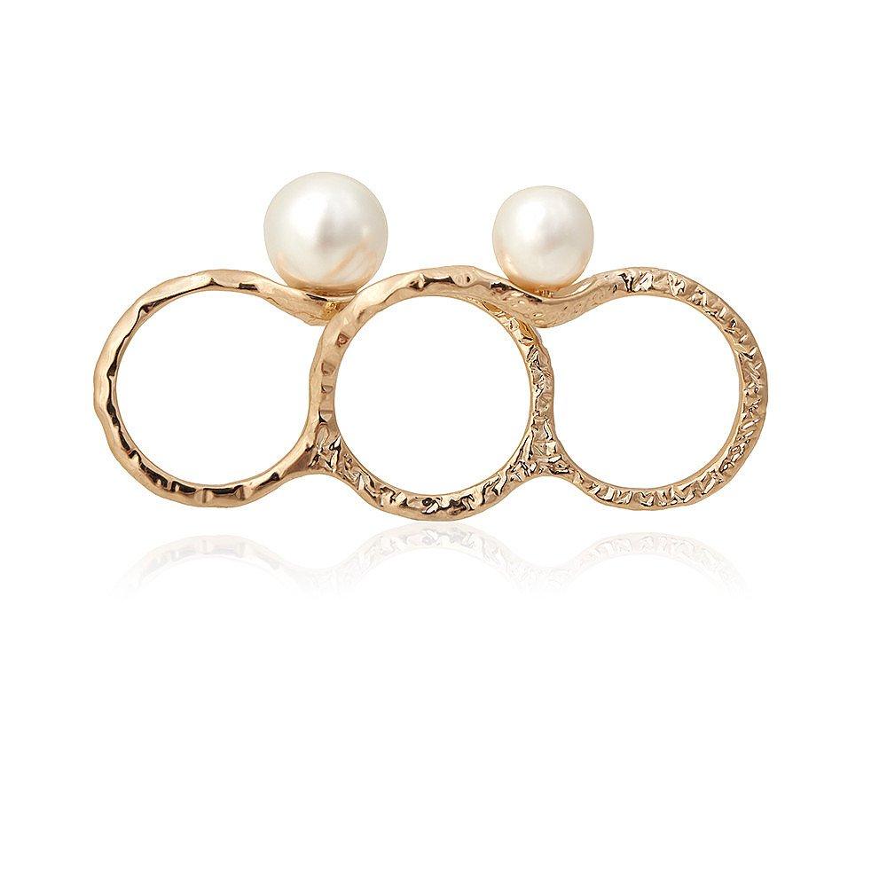Diana Broussard Peony Pearl Ring