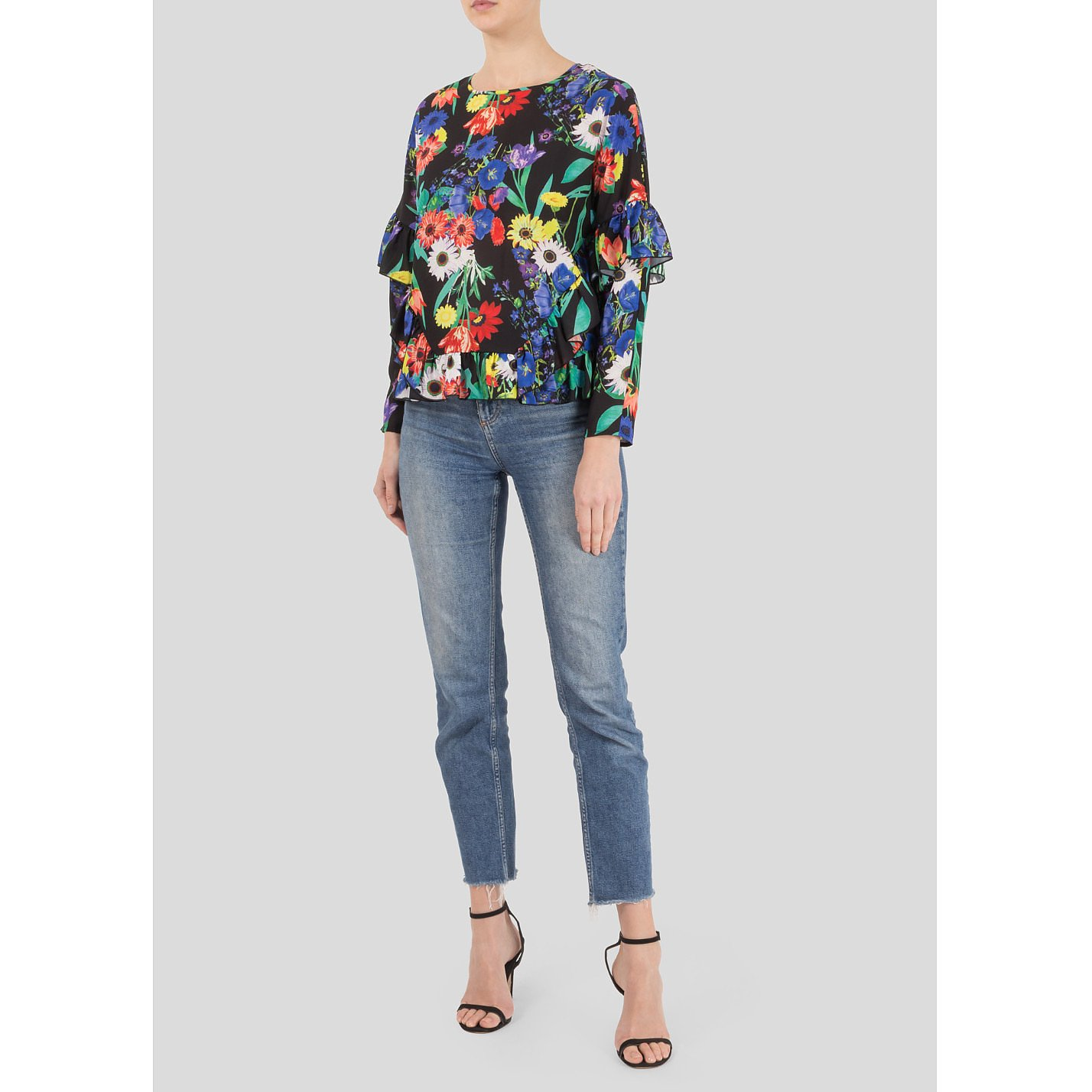 Studio by Preen Floral Ruffle Top