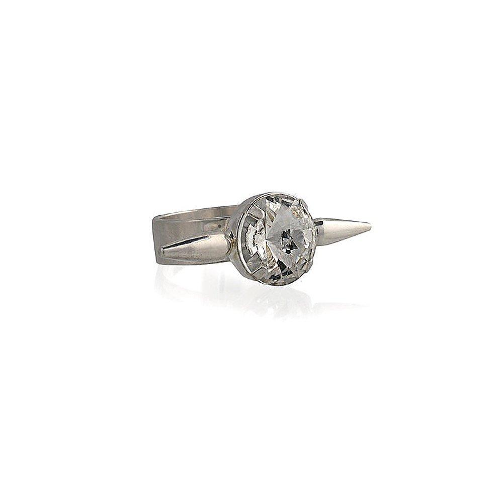 Fallon Braided Microspike Ring
