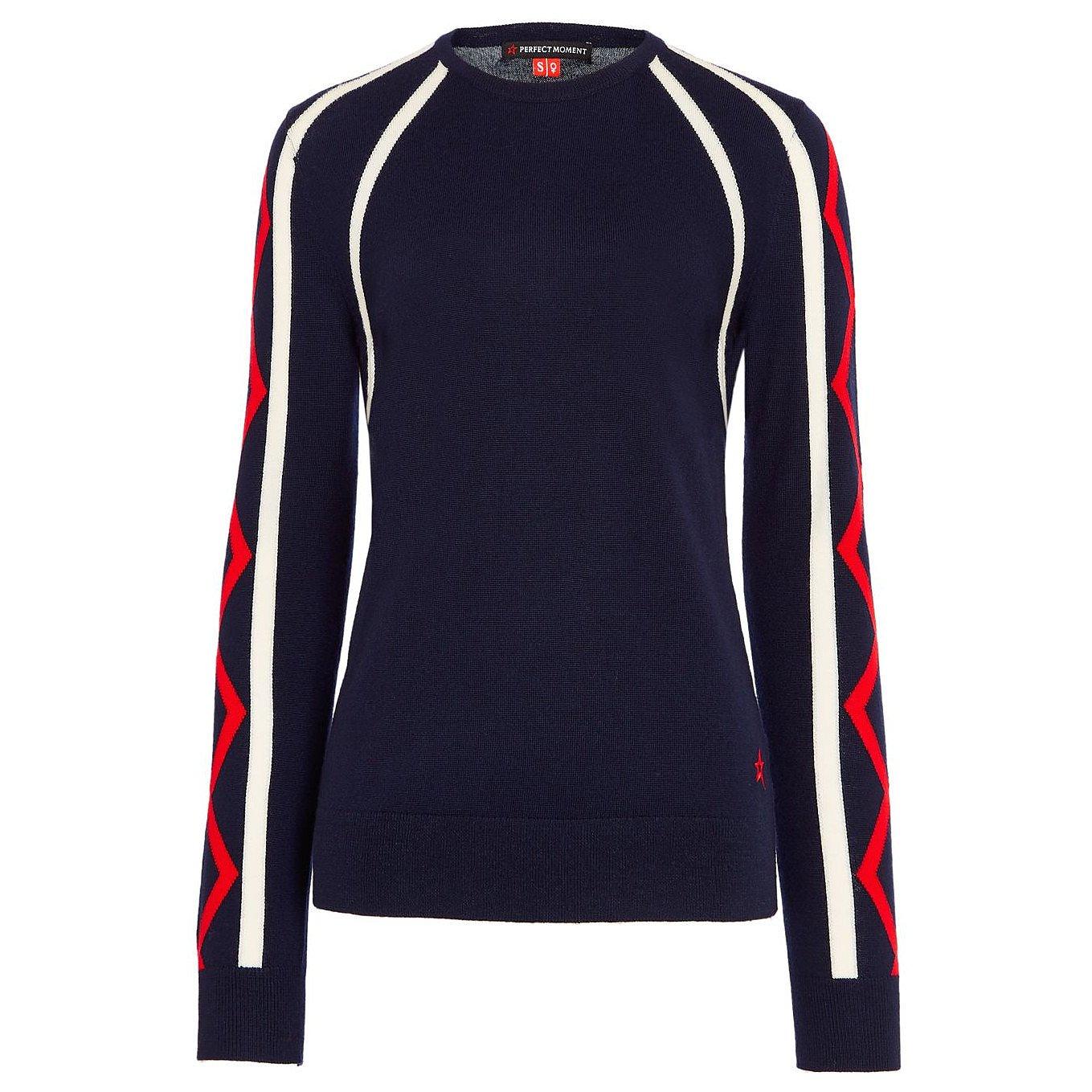 Perfect Moment Super Stripes Crewneck Sweater