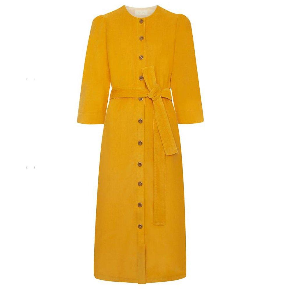 Alice Early Rhianon Dress - Mustard Yellow