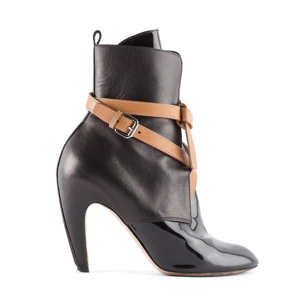Louis Vuitton Strap-Detail Ankle Boots