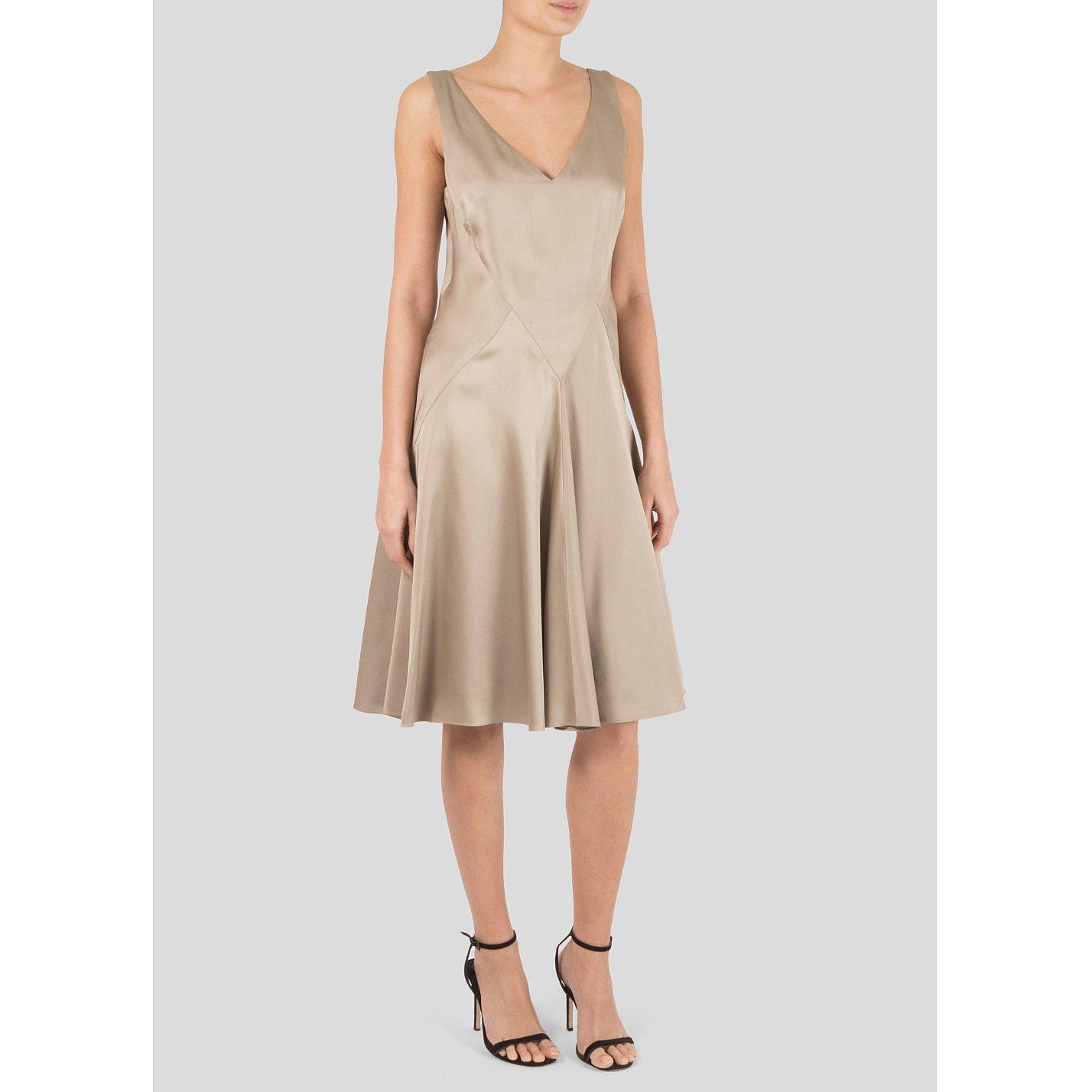 Ralph Lauren Silk Cocktail Dress