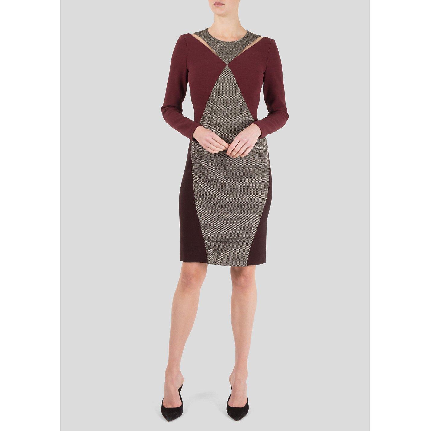 Stella McCartney Panelled Wool-Blend Dress