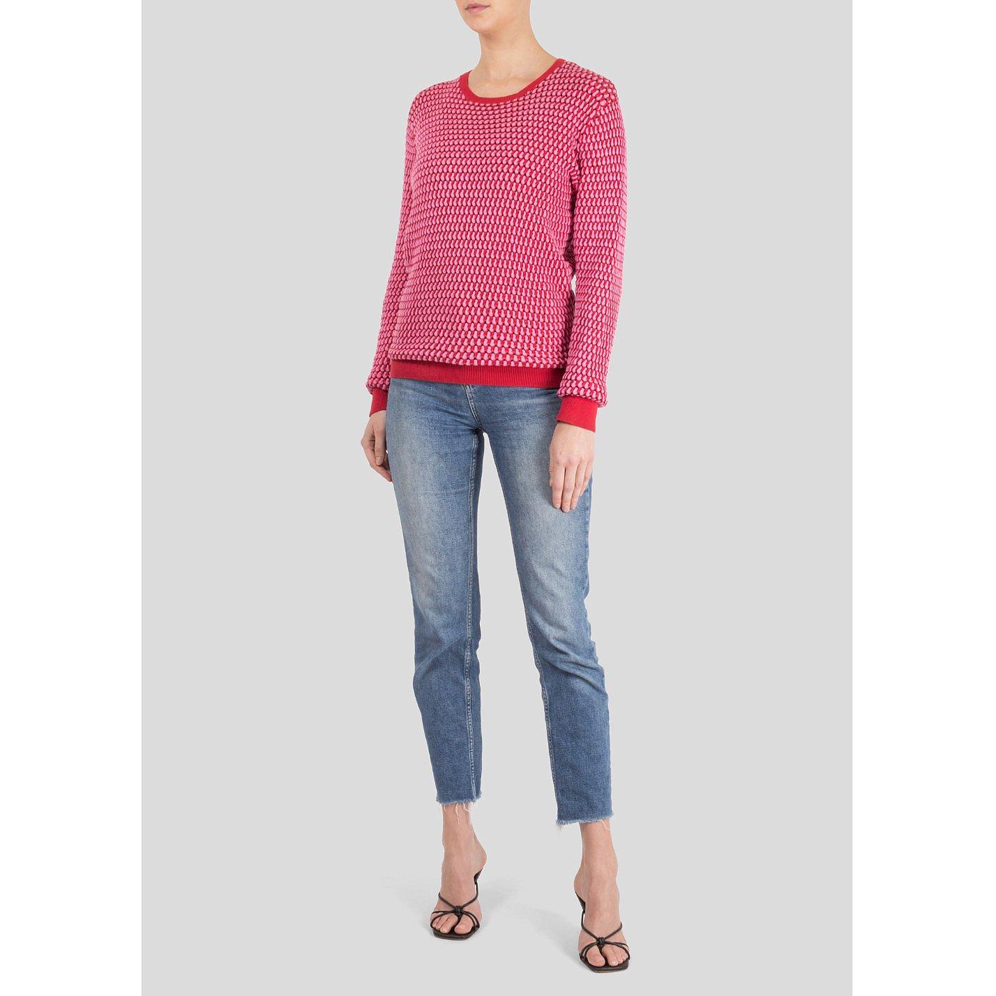 Jonathan Saunders Woven Cotton Sweater