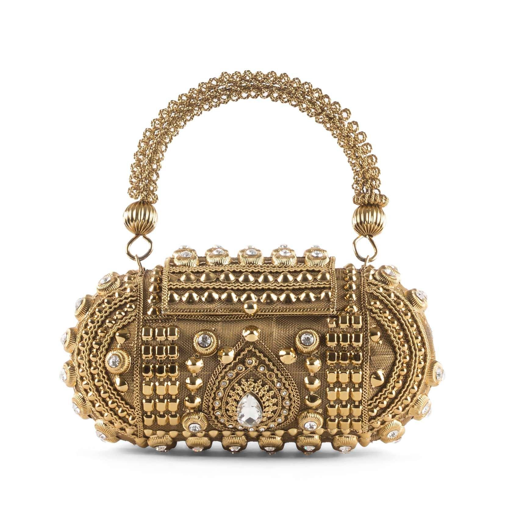 Vintage Jewelled Bag
