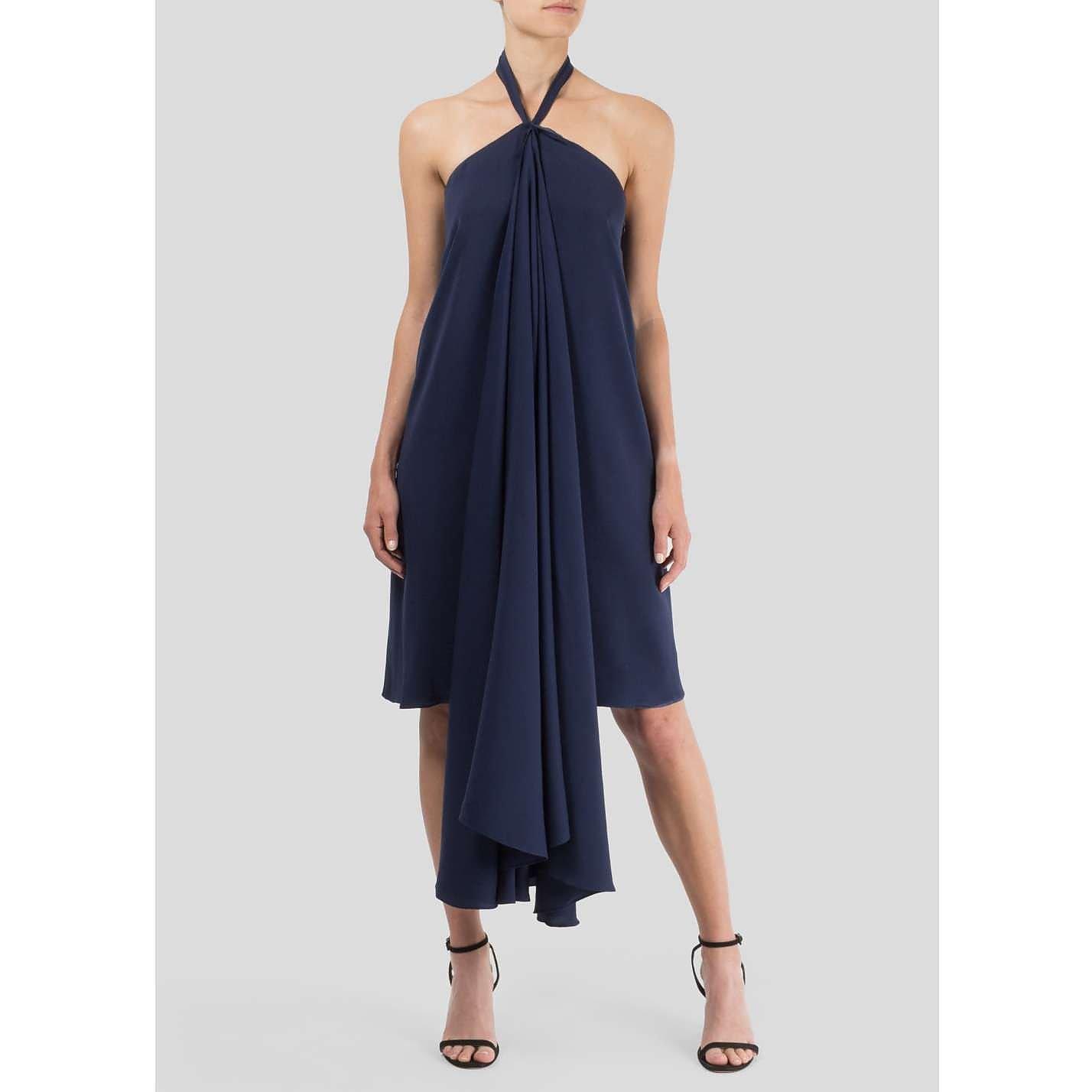 Jil Sander Drape-Front Dress